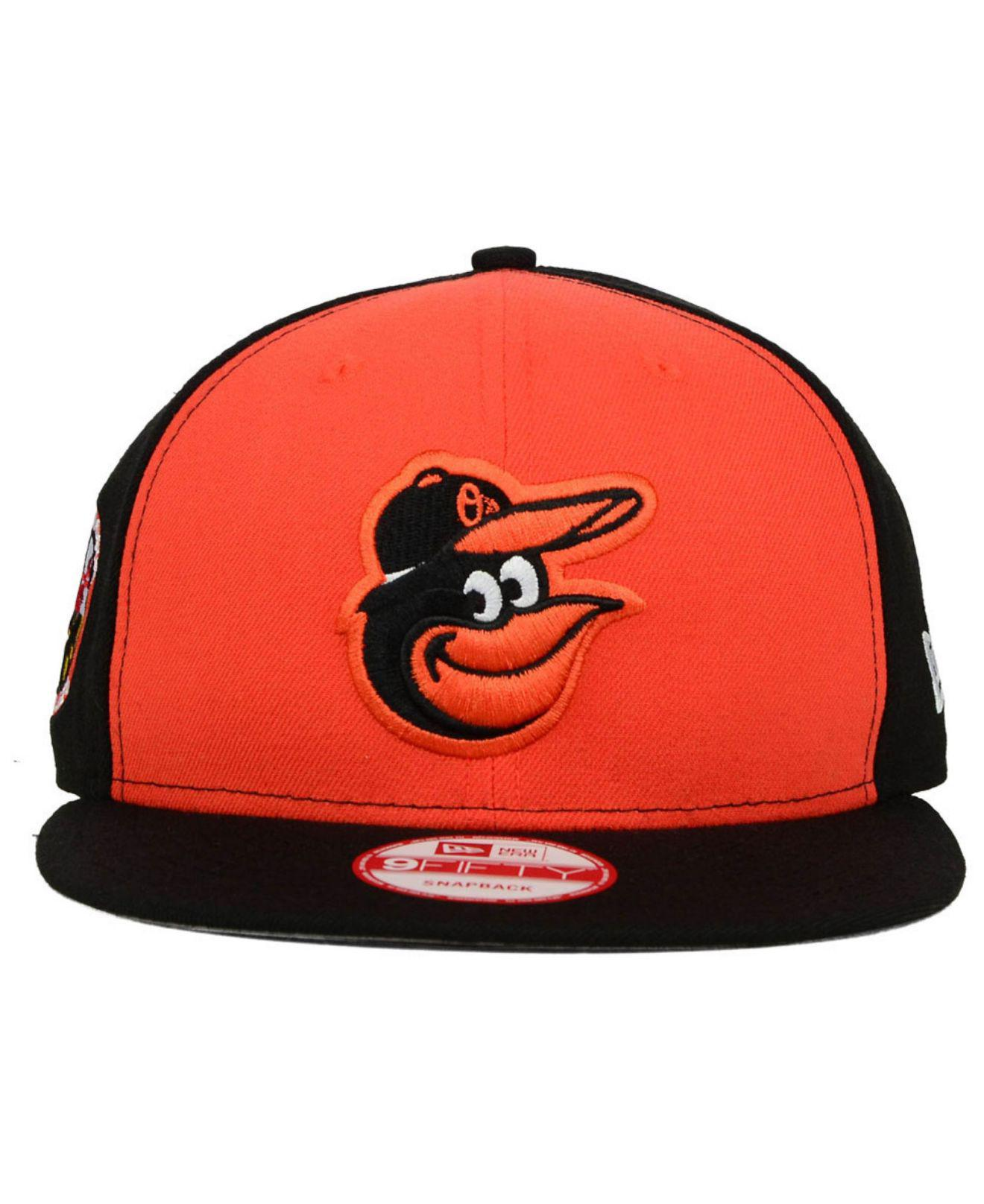 info for 70b69 0fc98 ... batting practice stretchfit hat 971c6 76005  new zealand lyst ktz  baltimore orioles 2 tone 9fifty snapback cap in orange for men cdd66