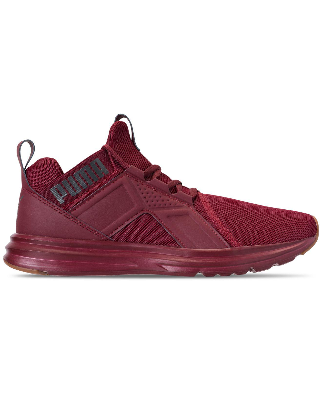 5f4248a38fc011 PUMA - Red Enzo Premium Mesh Casual Sneakers From Finish Line for Men -  Lyst. View fullscreen