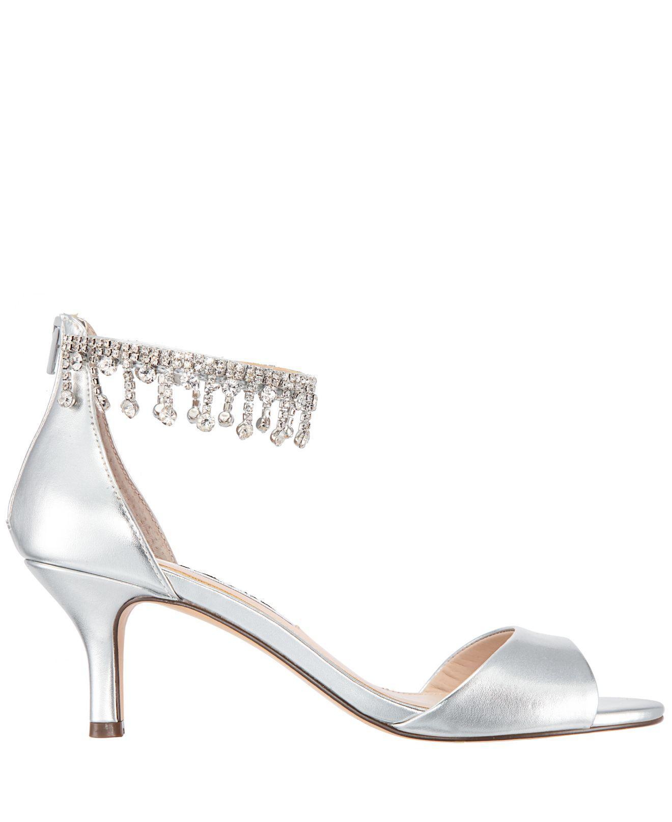 73b2c5f5997 Lyst - Nina Chianne Dress Sandals in Metallic