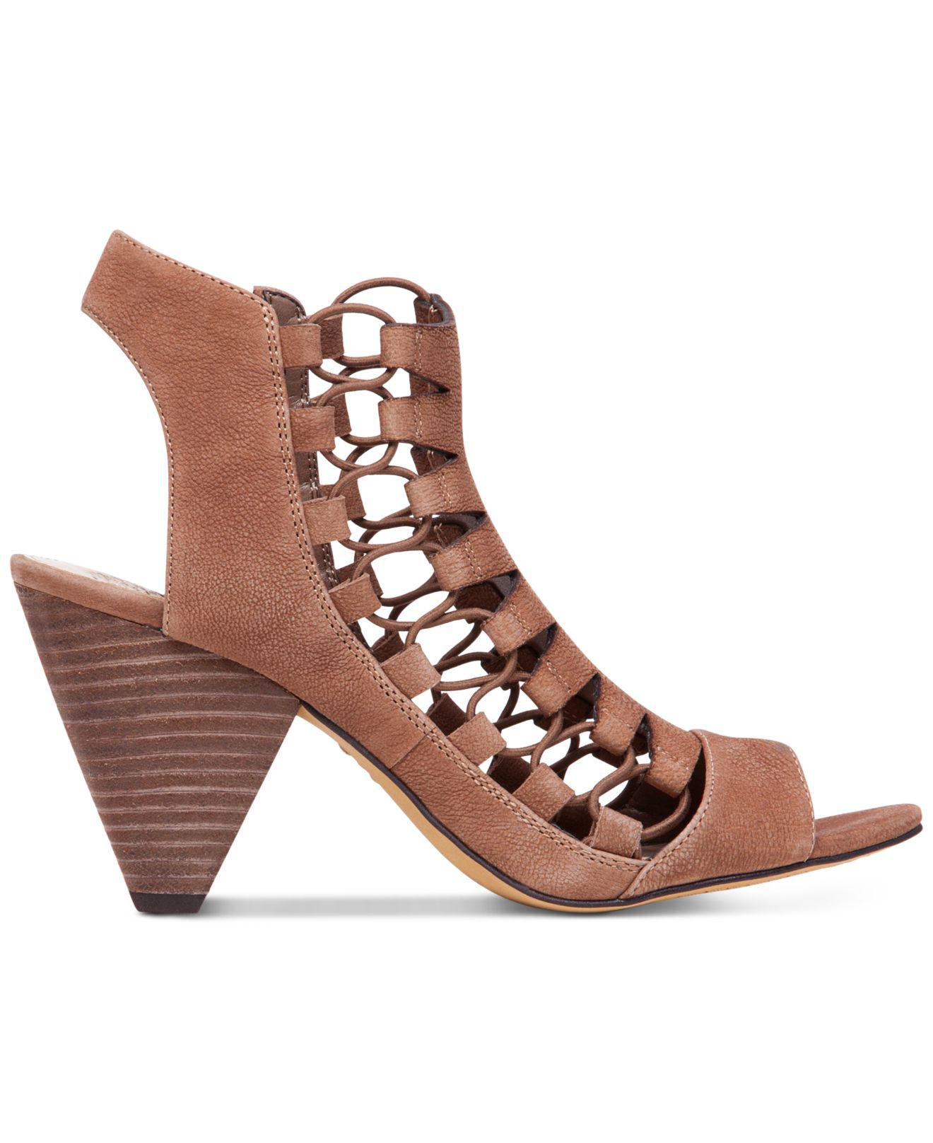 Vince Camuto Eliaz Gladiator Dress Sandals In Brown Lyst