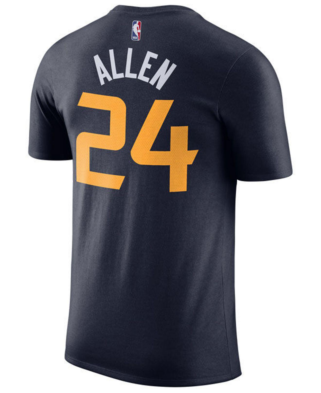 66916614a36e Lyst - Nike Grayson Allen Utah Jazz Icon Player T-shirt in Blue for Men