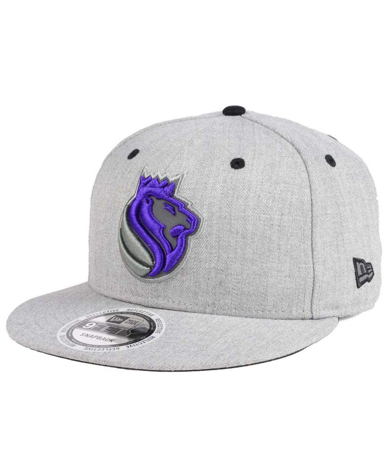 huge discount 27006 b3af1 Lyst - KTZ Sacramento Kings Total Reflective 9fifty Snapback Cap for Men