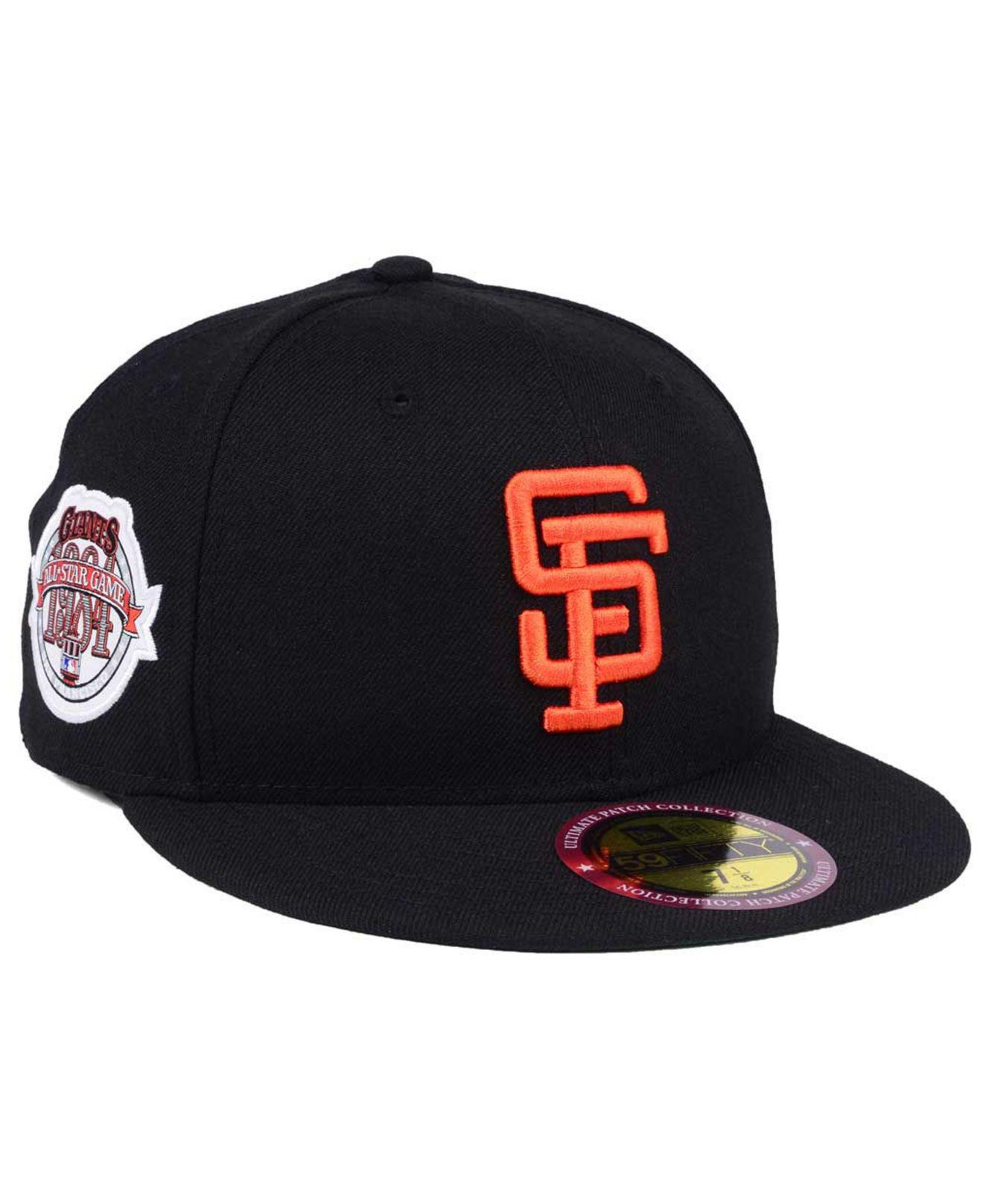 best service 52071 e4792 KTZ San Francisco Giants Ultimate Patch All Star Collection 59fifty ...