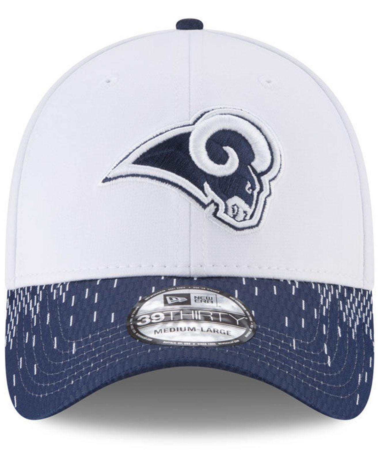 f49f7b493b1 Lyst - Ktz Los Angeles Rams Equalizer 39thirty Cap in Blue for Men