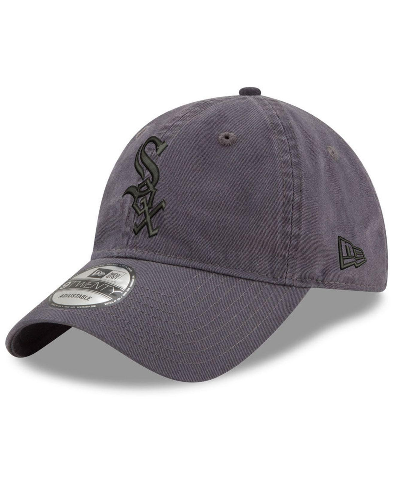 pretty nice cc3a1 362b7 KTZ. Men s Gray Chicago White Sox Graphite 9twenty Cap