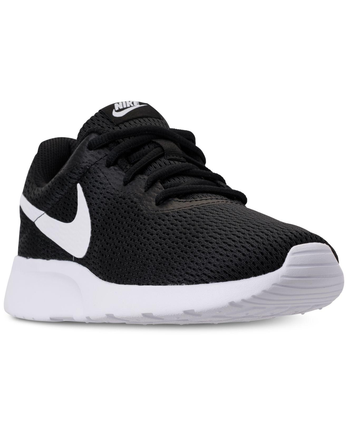 Nike Women's Tanjun Wide Width (2E) Casual Sneakers from Finish Line FAPRCT9Ct