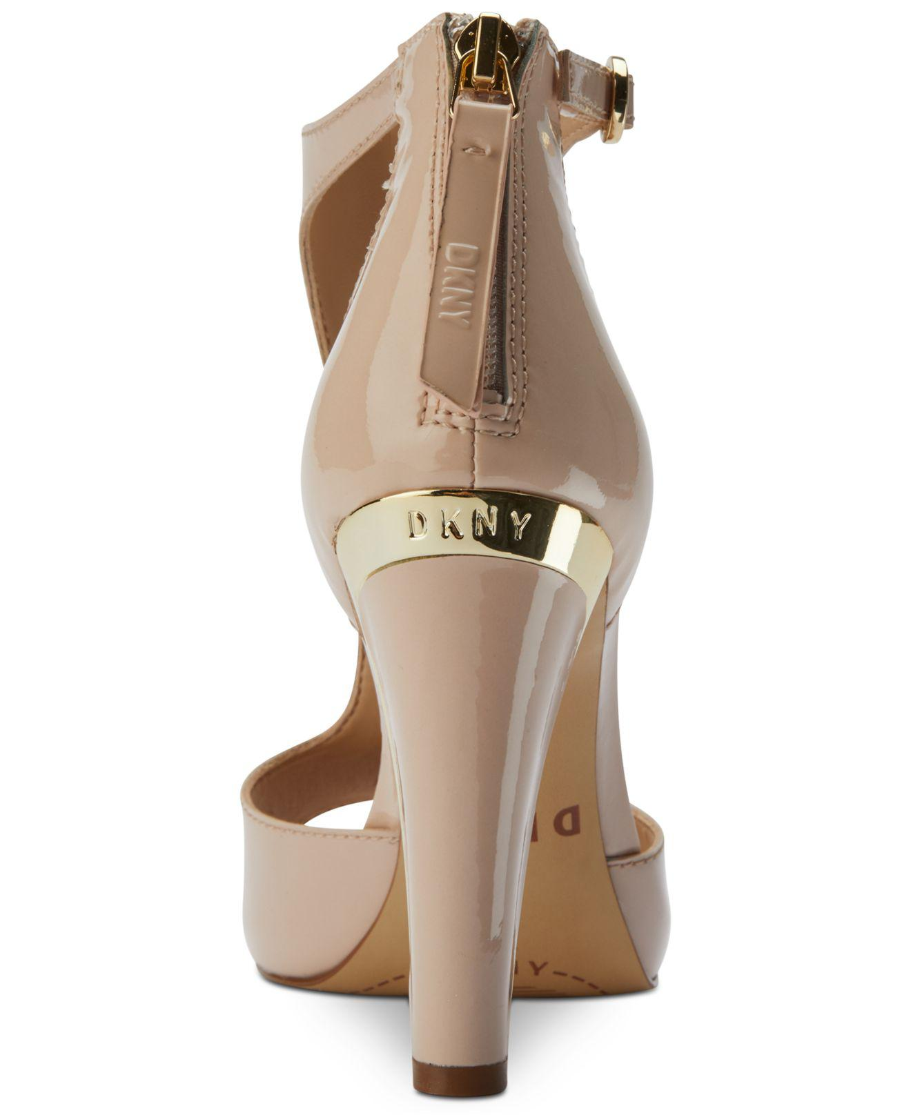 8943c1d3b8b Lyst - DKNY Colby T-strap Sandals