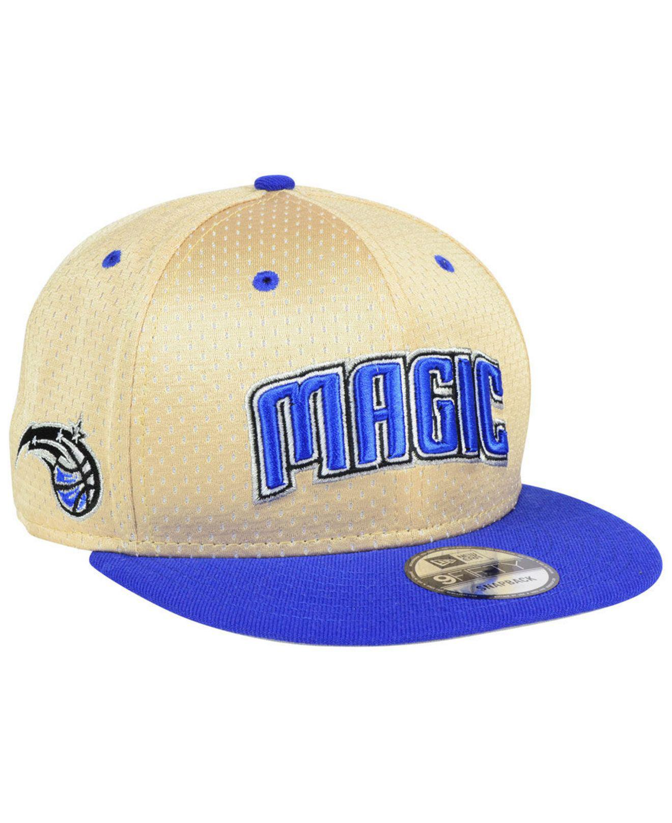 e8655a30eaaa3 Lyst - KTZ Orlando Magic Champagne 9fifty Snapback Cap in Blue for Men