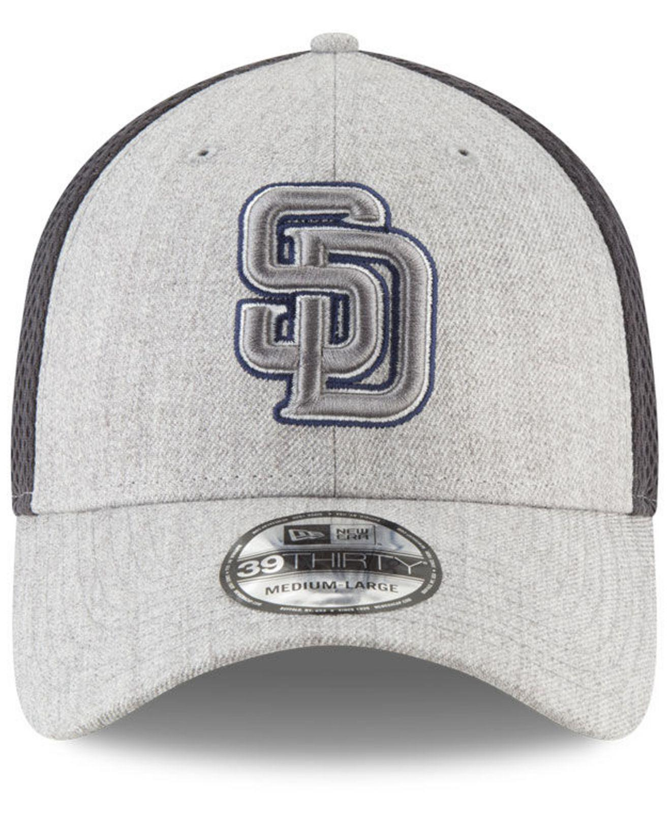 newest 6f7e1 40e9b Lyst - KTZ San Diego Padres Heather Pop Neo 39thirty Cap in Gray for Men
