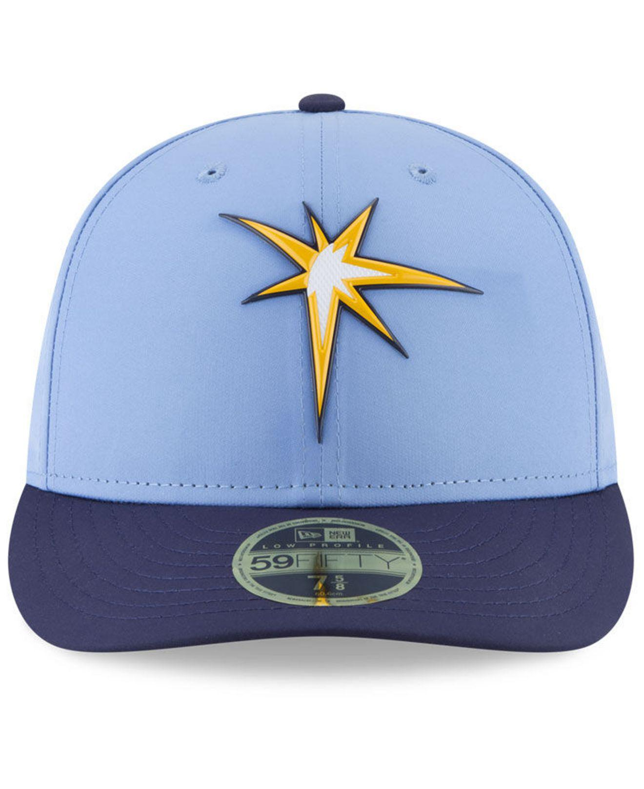 low priced 98421 0e616 KTZ Tampa Bay Rays Spring Training Pro Light Low Profile 59fifty ...