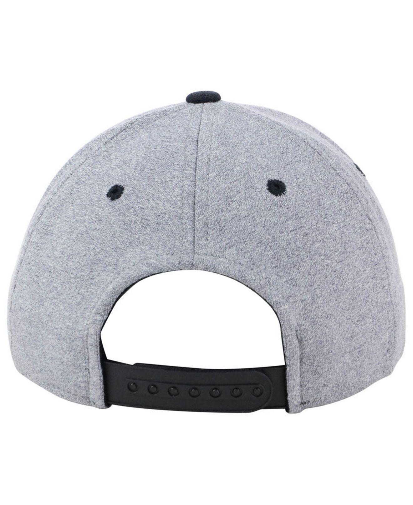 new concept 451c3 97a04 ... where to buy adidas gray new jersey devils heather line change cap for  men lyst.