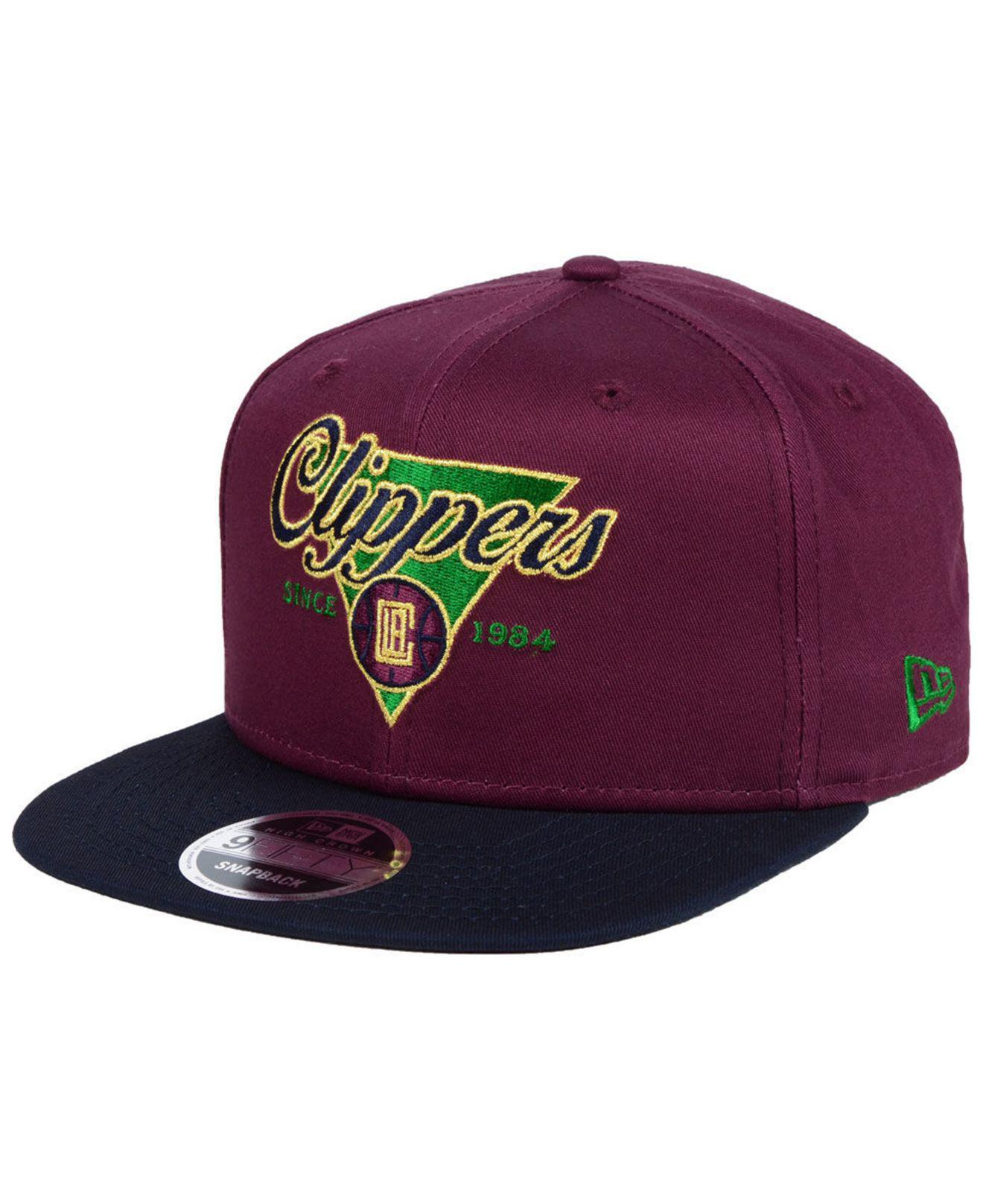 super popular d1b68 62b98 KTZ. Men s Purple Cleveland Cavaliers 90s Throwback 9fifty Snapback Cap