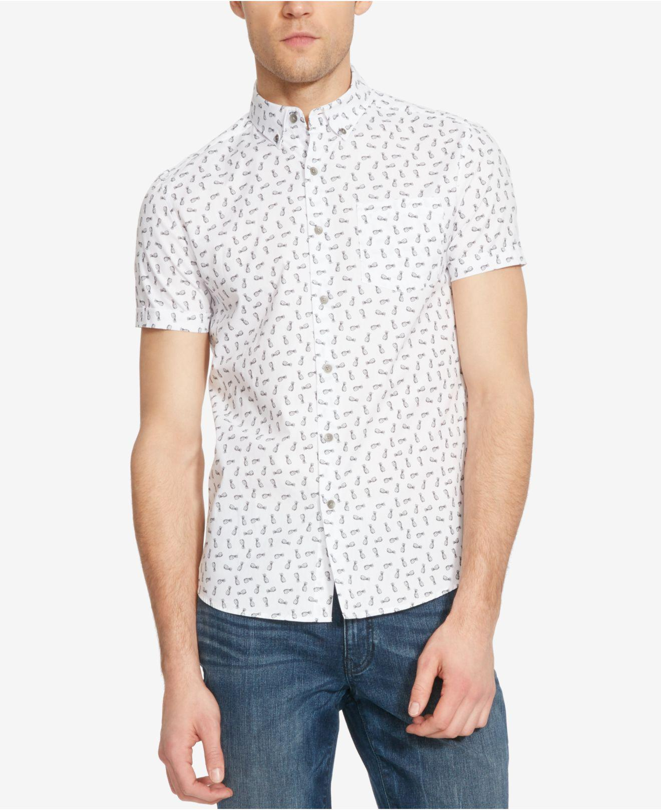 Short-Sleeve Pineapple Shirt Kenneth Cole Reaction Footlocker Finishline Sale Online Buy Cheap Low Price Fee Shipping Factory Price Discount Pay With Visa JcqhdIjN