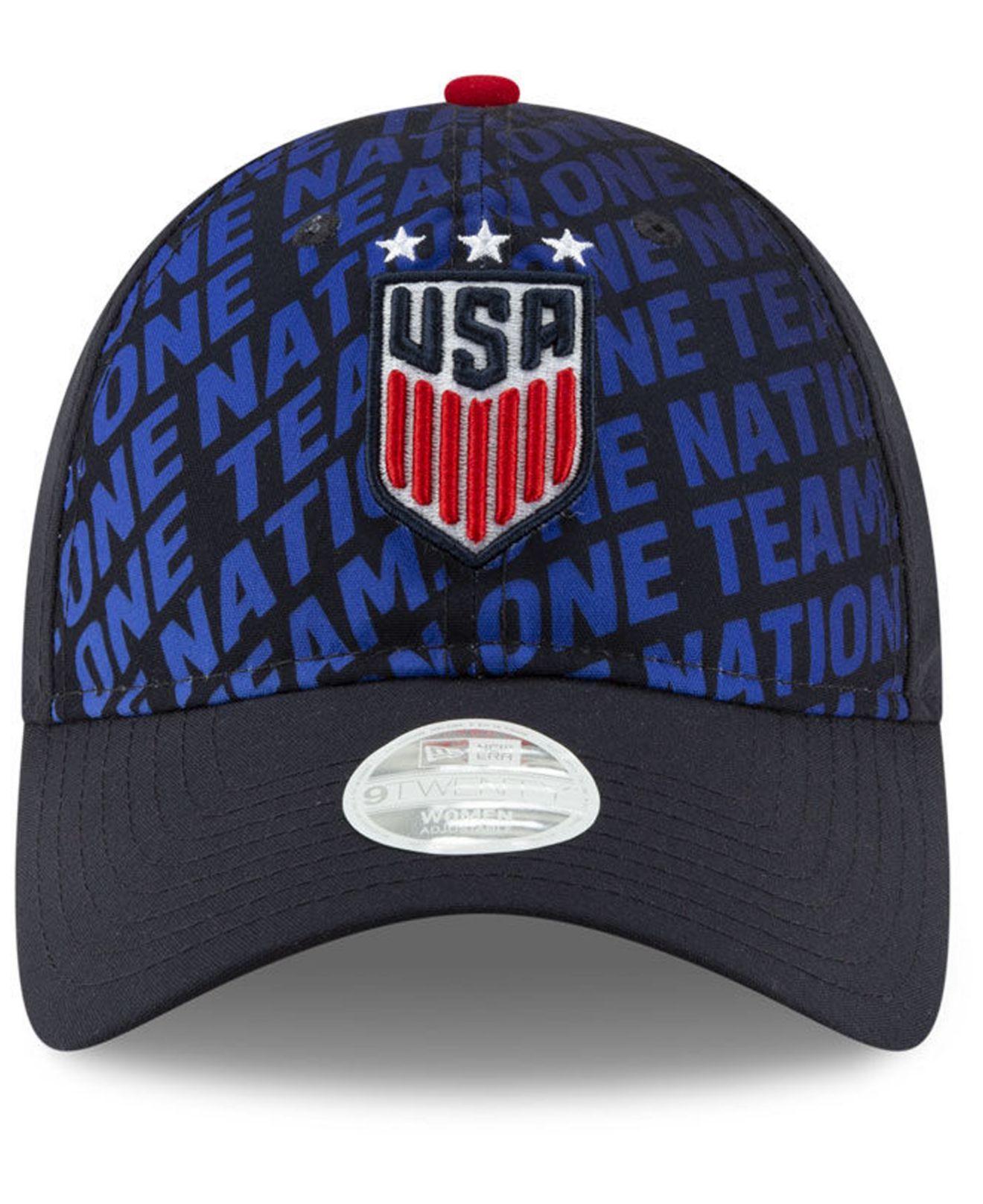 low priced 3db3d b498f KTZ Usa National Team Pride 9twenty Adjustable Cap in Blue - Lyst
