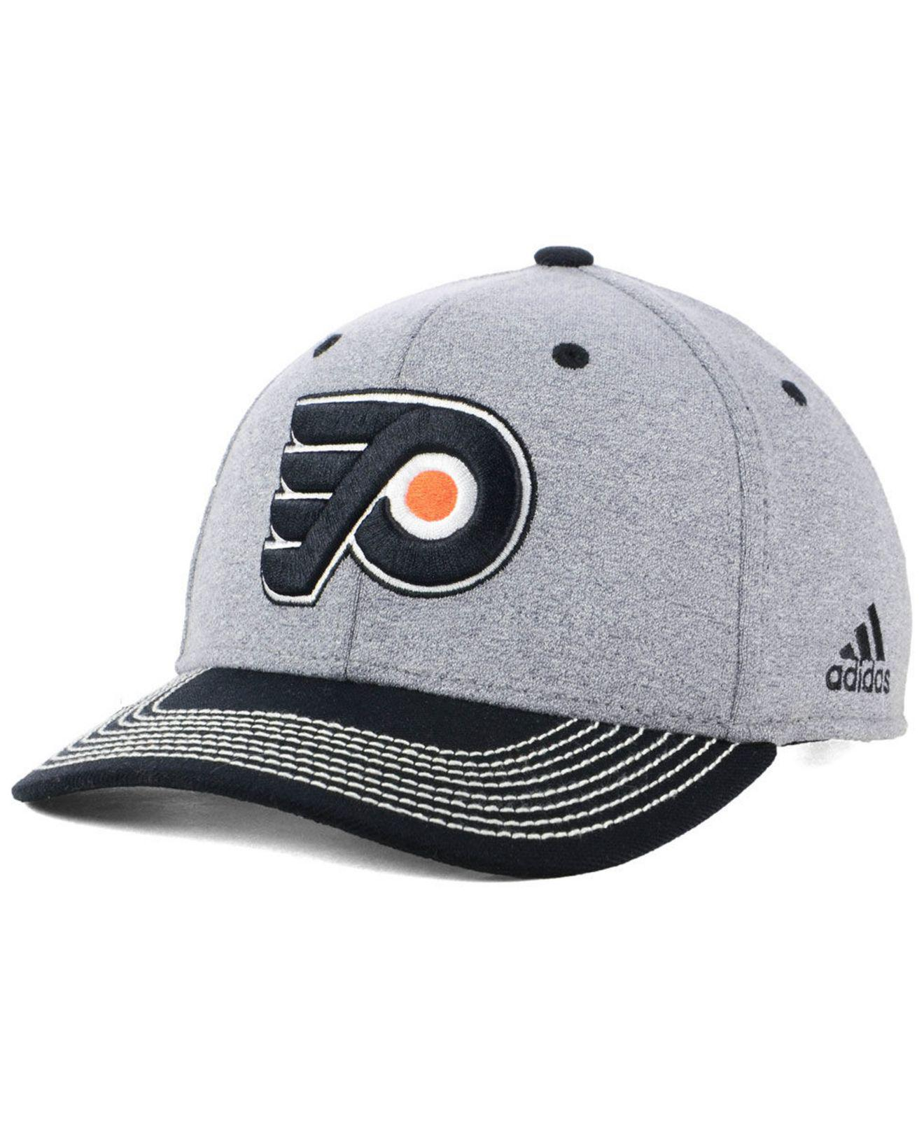 5a407672f4d39 Adidas - Gray Philadelphia Flyers Heather Line Change Cap for Men - Lyst.  View fullscreen