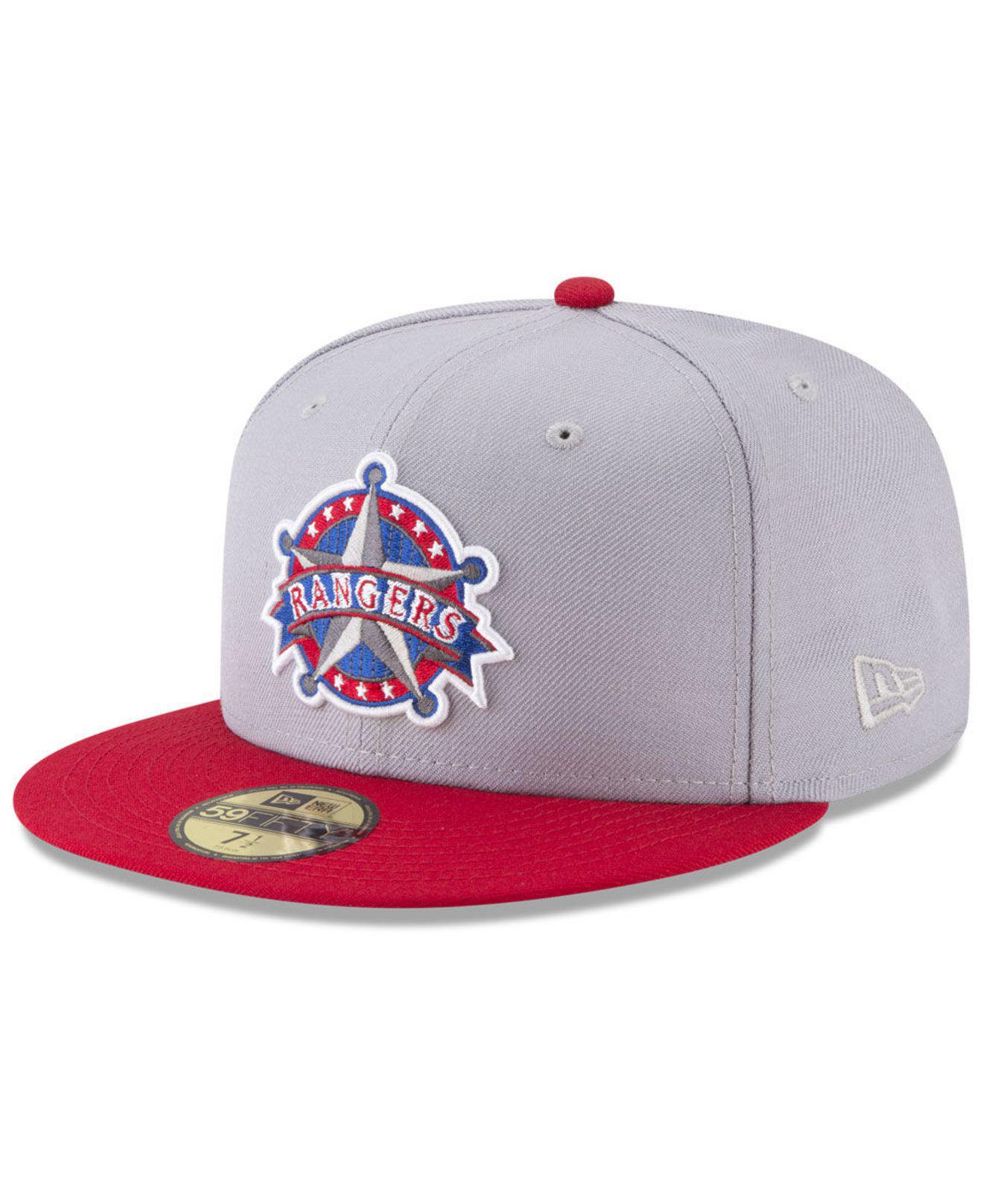 finest selection 8496c 9f988 ... get lyst ktz texas rangers batting practice wool flip 59fifty fitted  63f7e 254df ...