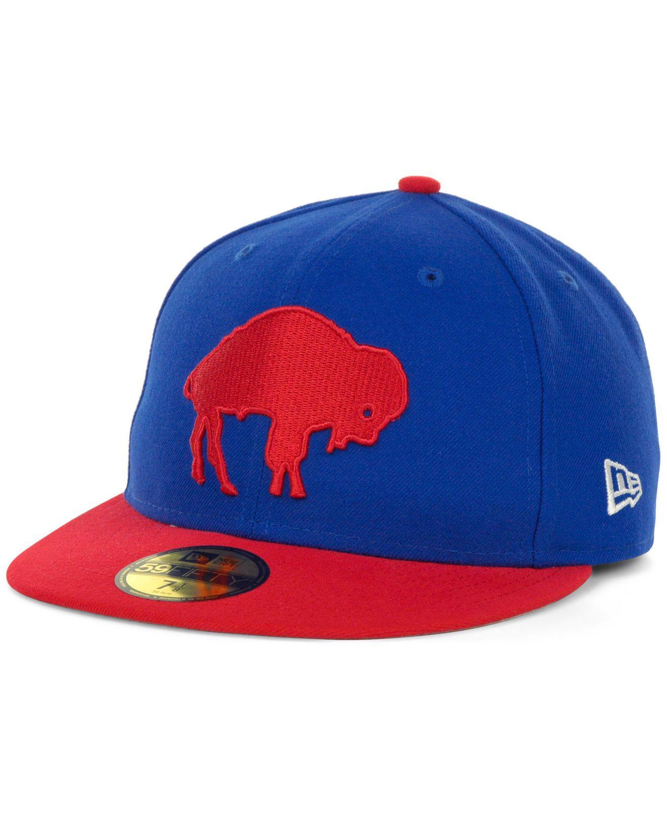 884af573437 Lyst - KTZ Buffalo Bills Historic 59fifty Hat in Red for Men