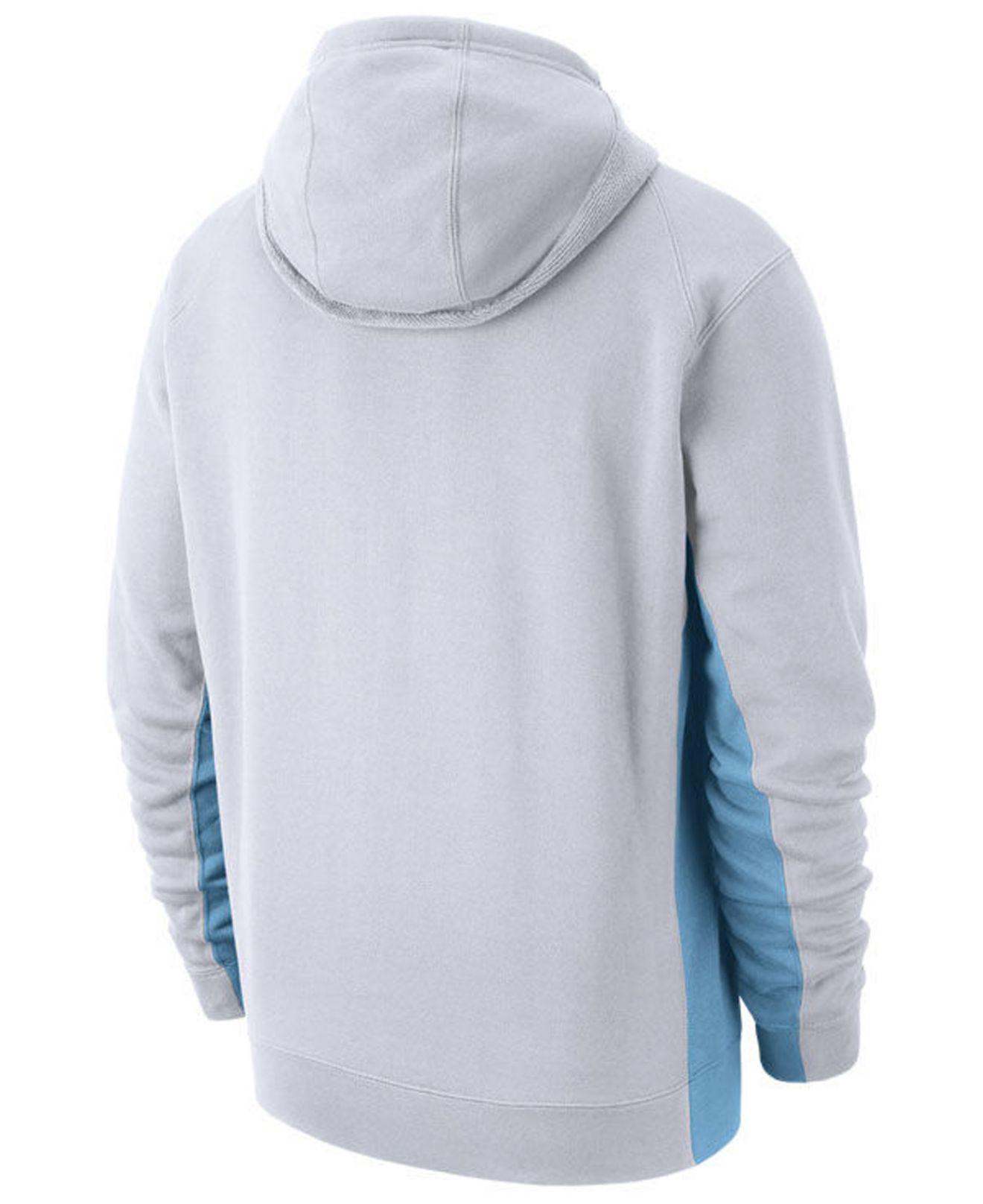 743f66873ed Lyst - Nike Miami Heat Earned Edition Courtside Hoodie in White for Men