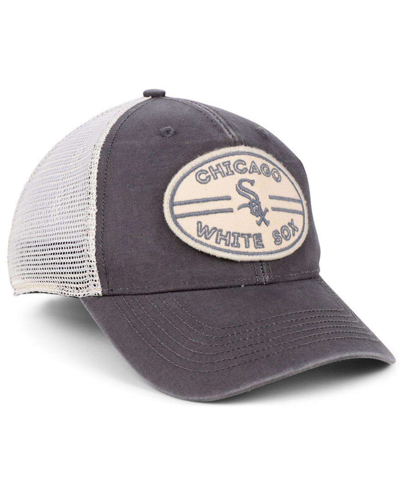 size 40 89852 52018 Lyst - 47 Brand Chicago White Sox Hudson Patch Trucker Mvp Cap in Gray for  Men