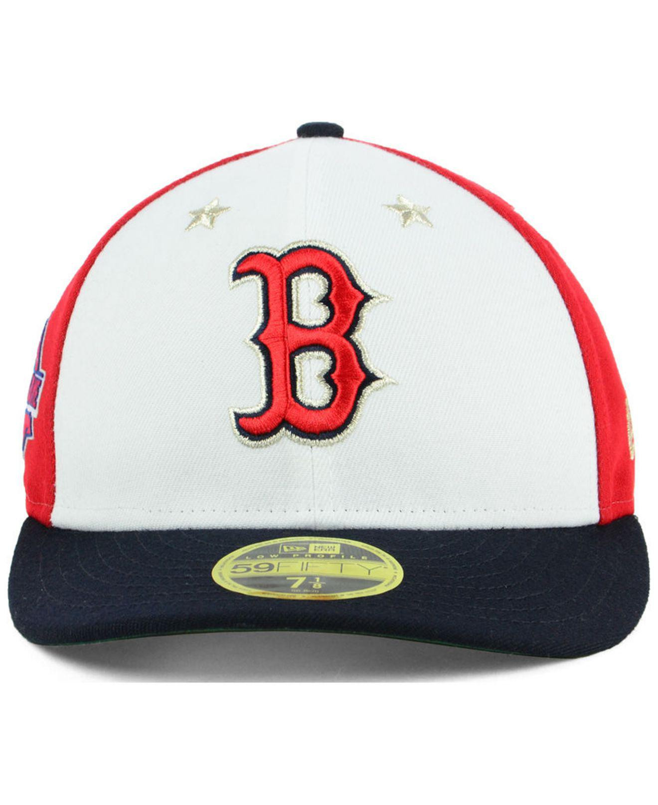 the latest d5e99 7212e ... italy lyst ktz boston red sox all star game patch low profile 59fifty  fitted cap 2018