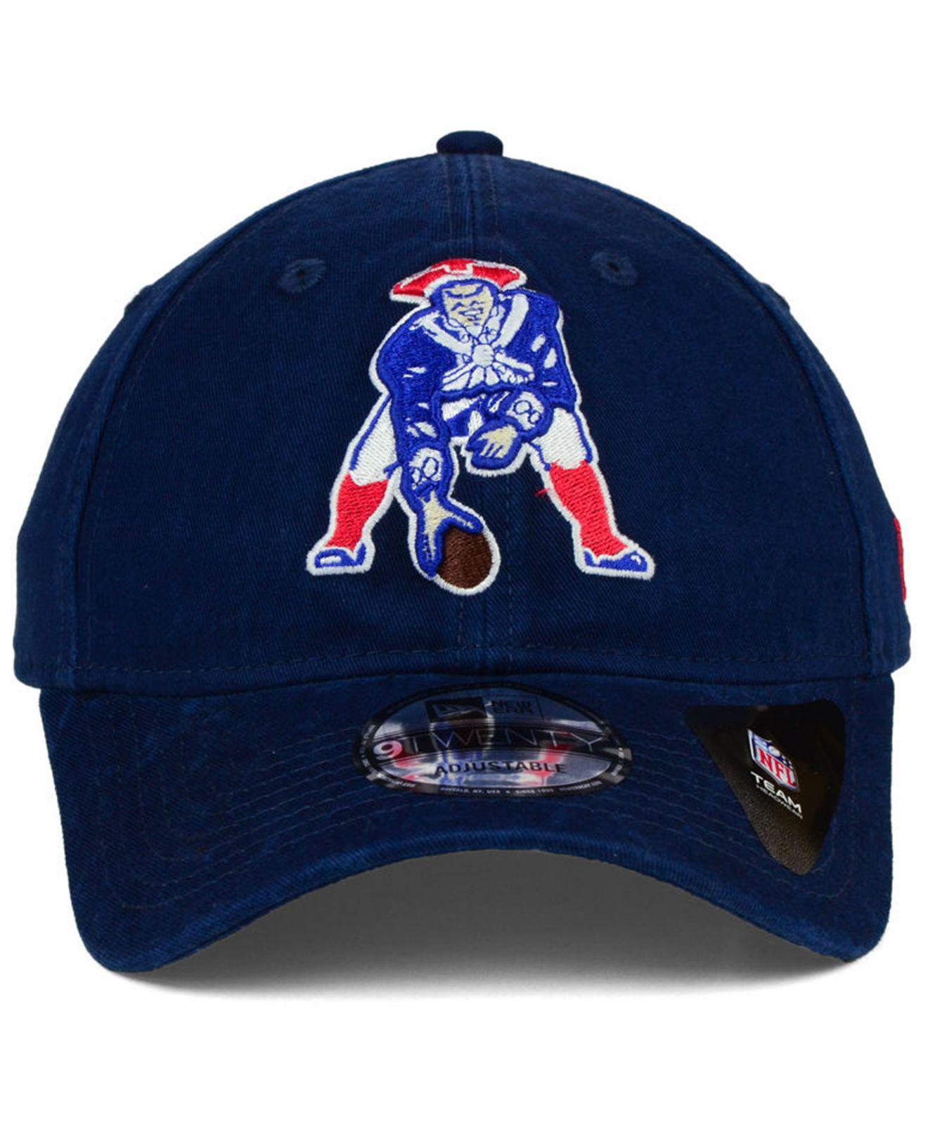 fd8a65544061c ... promo code lyst ktz new england patriots core shore 9twenty strapback  cap in 58d1c 5f2e6