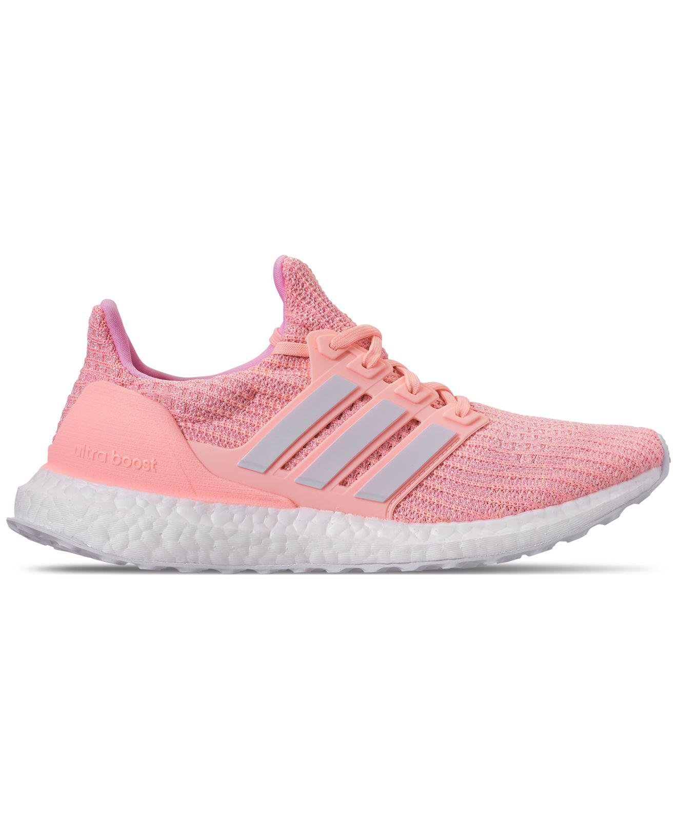 1bc2af252 Lyst - adidas Ultraboost Running Sneakers From Finish Line in Pink
