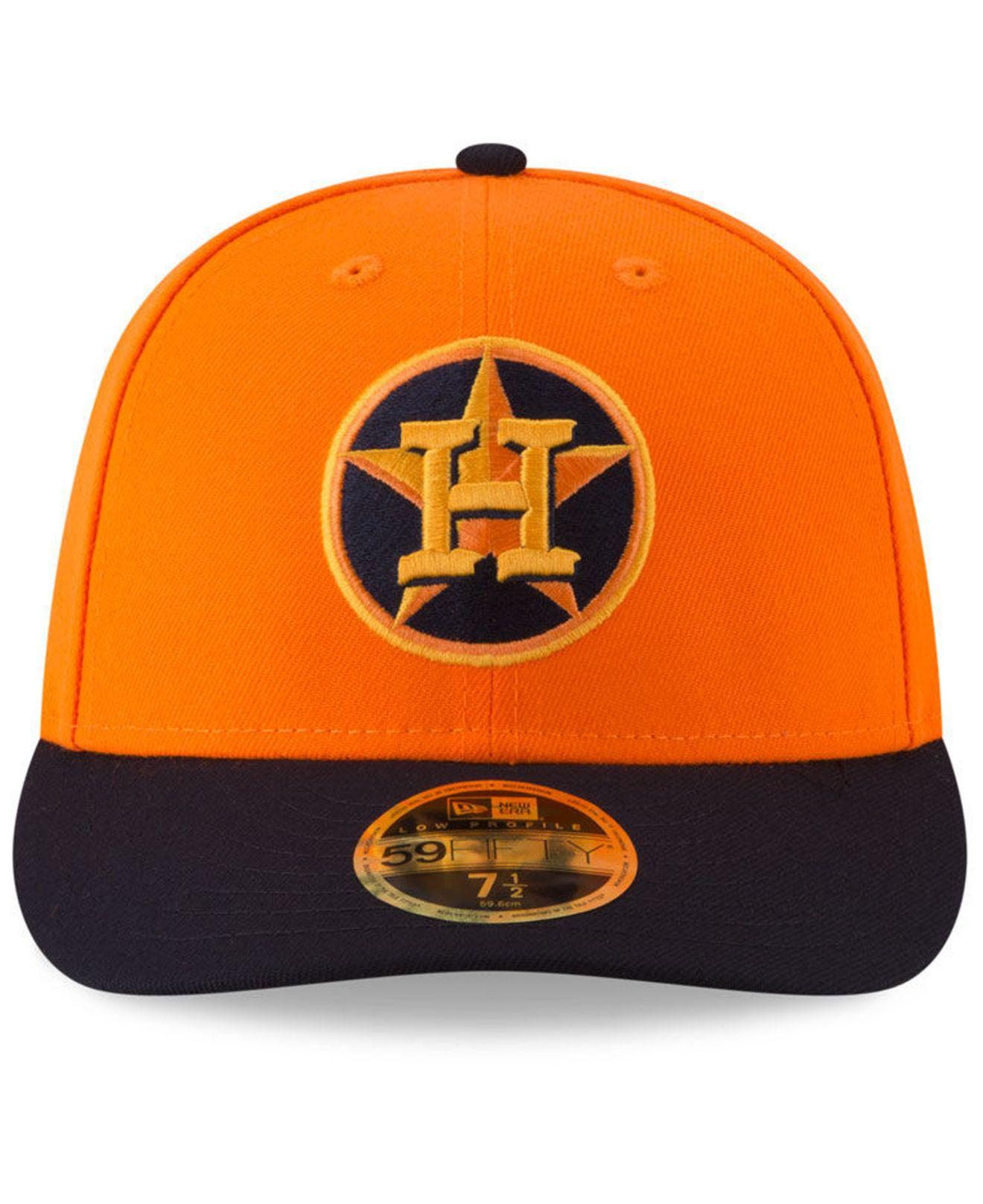 cc117a821c9 Lyst - Ktz Houston Astros Players Weekend Low Profile 59fifty Fitted Cap in  Orange for Men