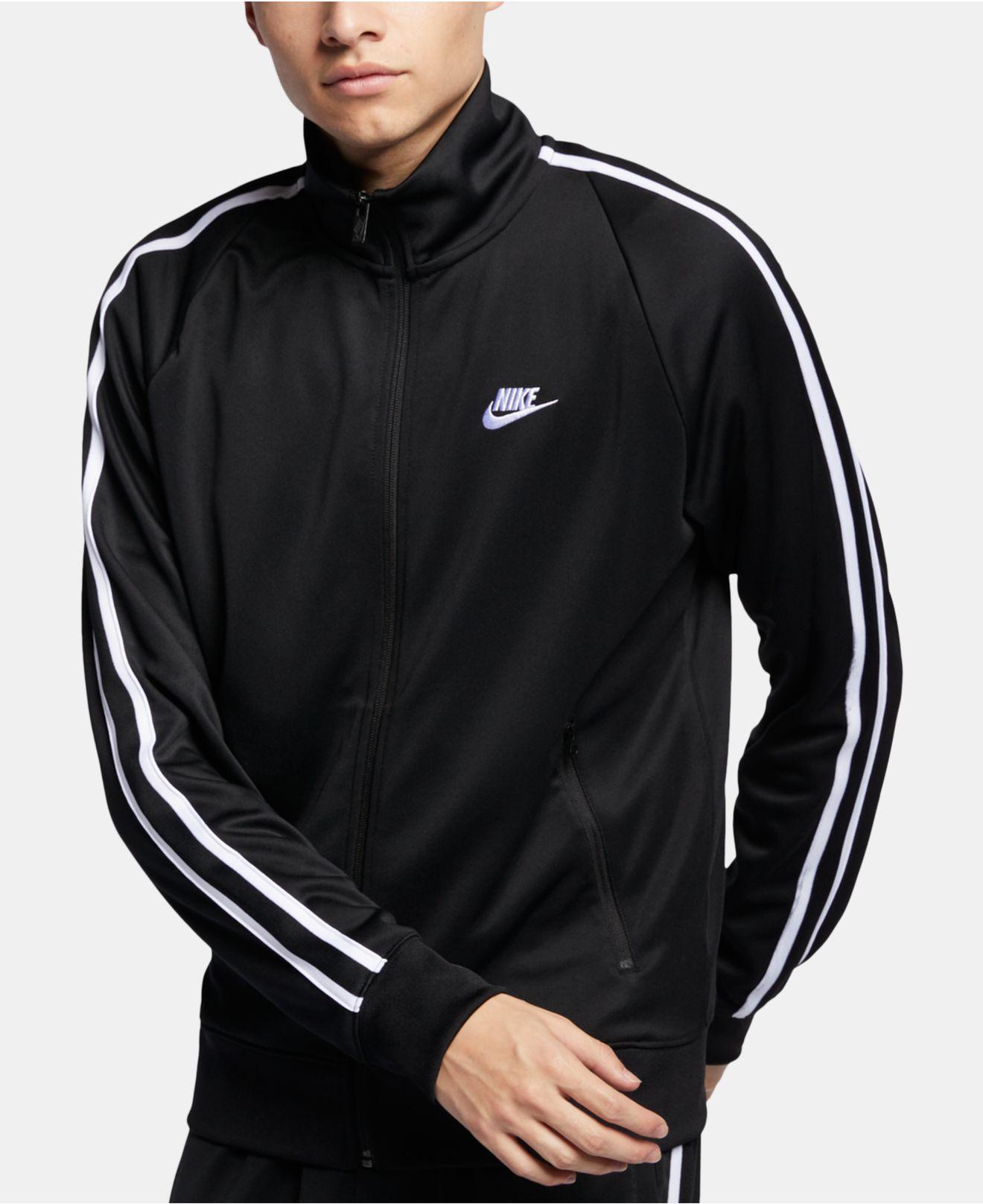 Nike - Black Sportswear Track Jacket for Men - Lyst. View fullscreen c3c35b1a5