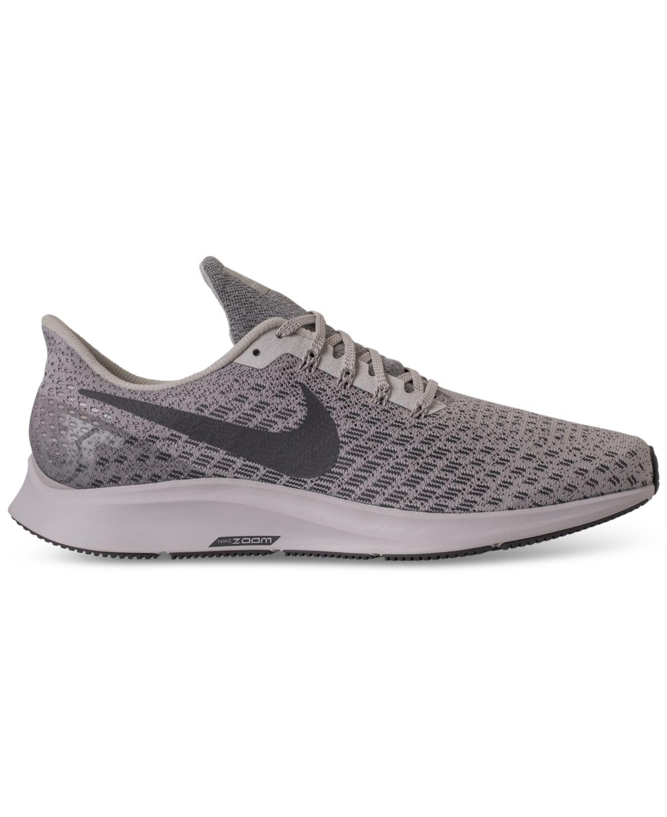 Lyst - Nike Air Zoom Pegasus 35 Running Sneakers From Finish Line in Gray  for Men 1a9fe5b35