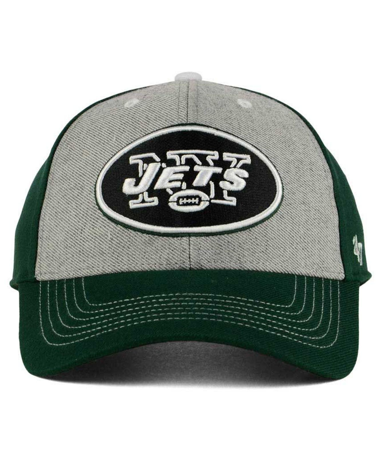 new styles 080c6 072d6 Lyst - 47 Brand New York Jets Formation Mvp Cap in Green for Men