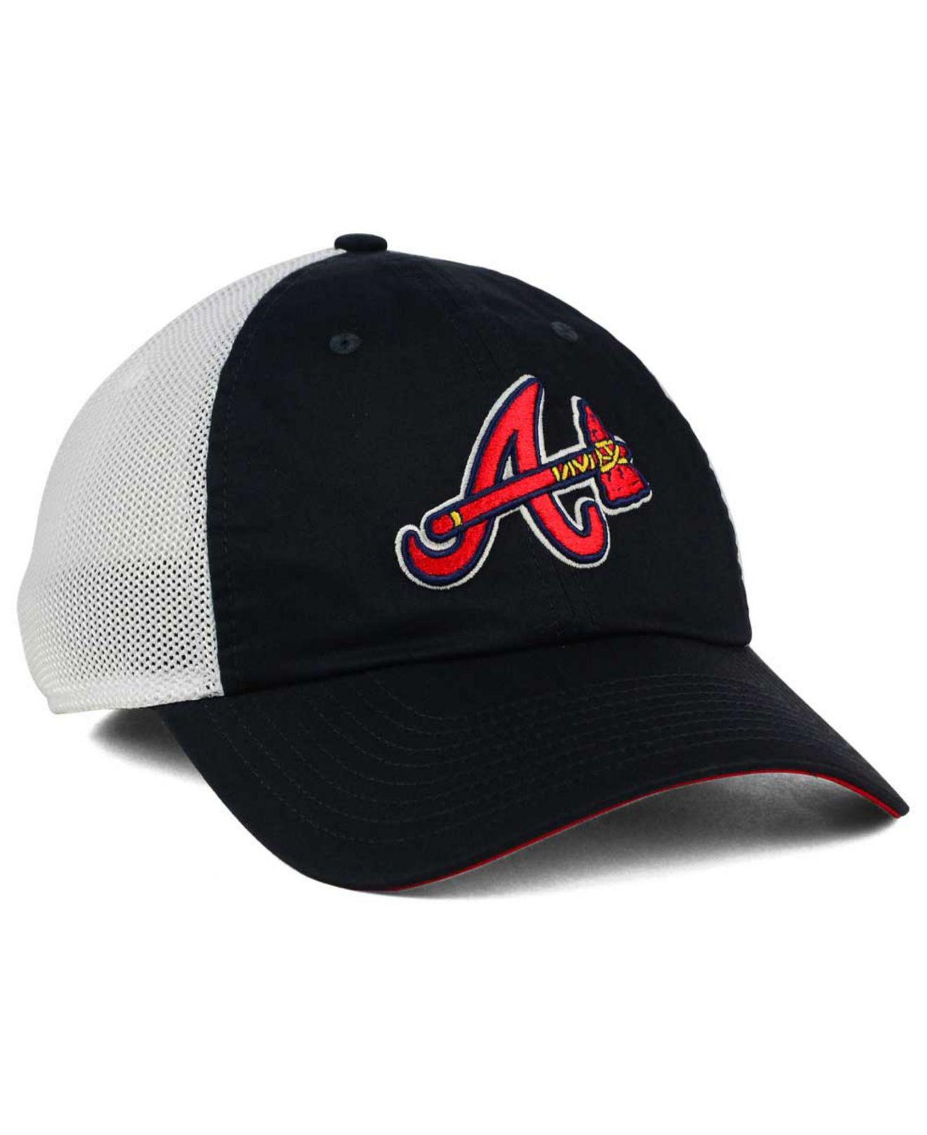 Lyst - Nike Atlanta Braves Dri-fit Mesh Swoosh Adjustable Cap in ... c524c9cdc71b