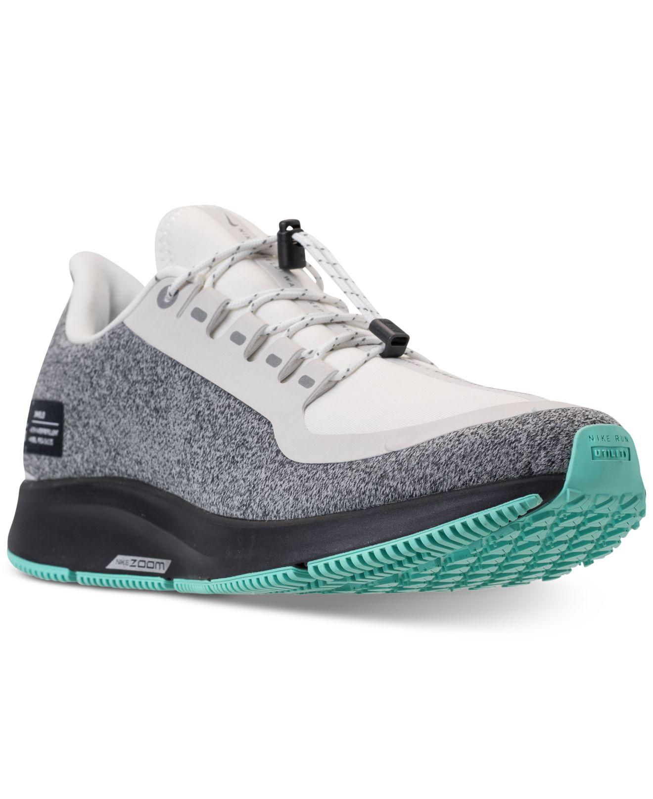b8bbbeed3c83 Lyst - Nike Air Zoom Pegasus 35 Shield Running Sneakers From Finish Line