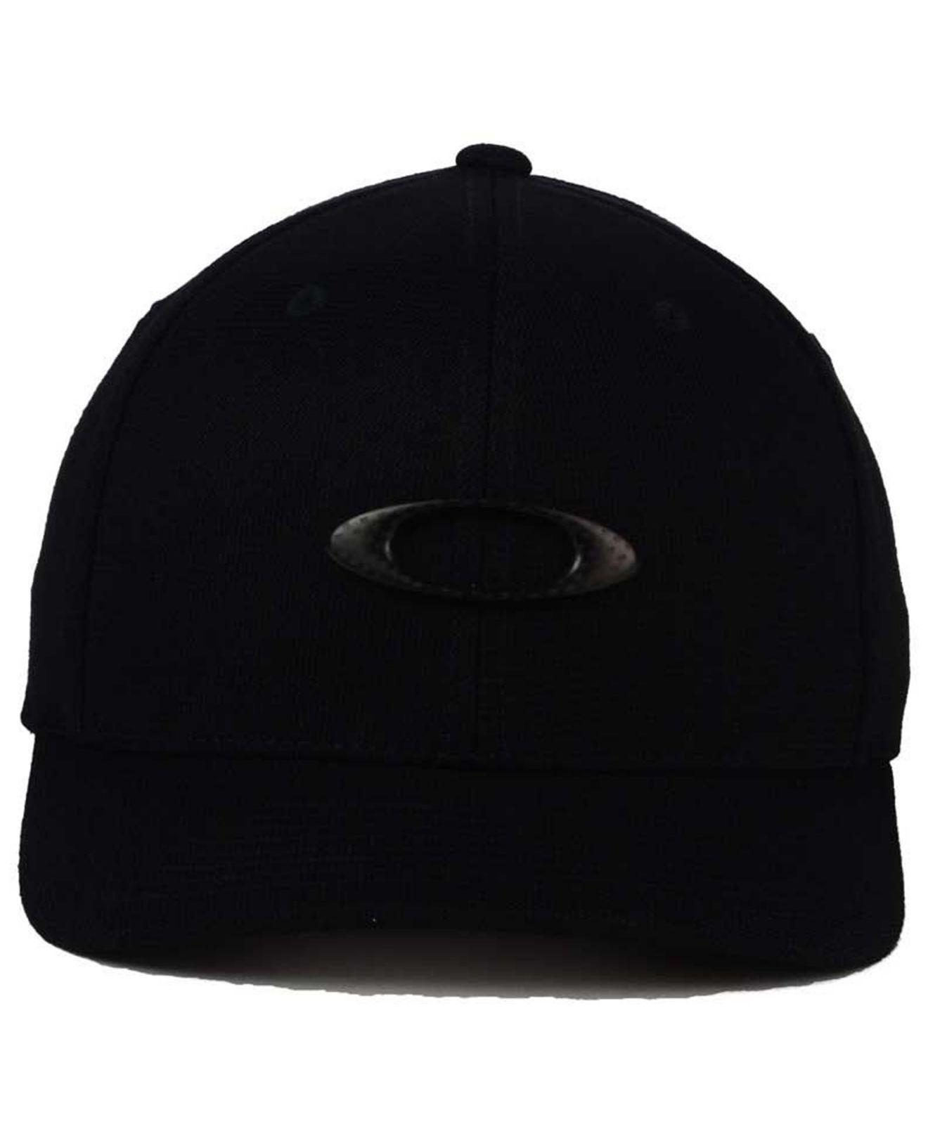 b366c3af34 Lyst - Oakley Tin Can Carbon Fiber Cap in Black for Men