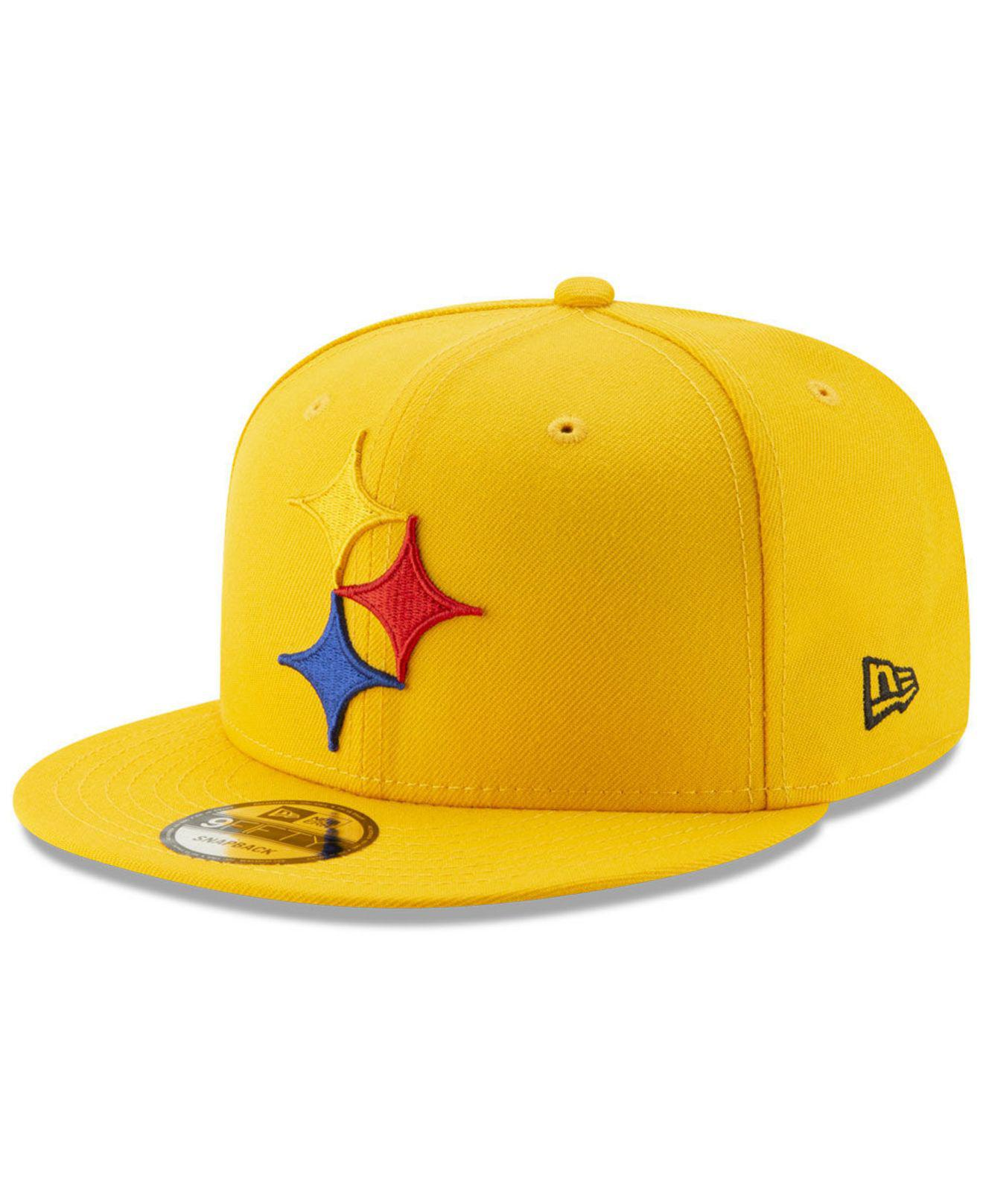 7738a4b2eff Lyst - KTZ Pittsburgh Steelers Logo Elements Collection 9fifty ...