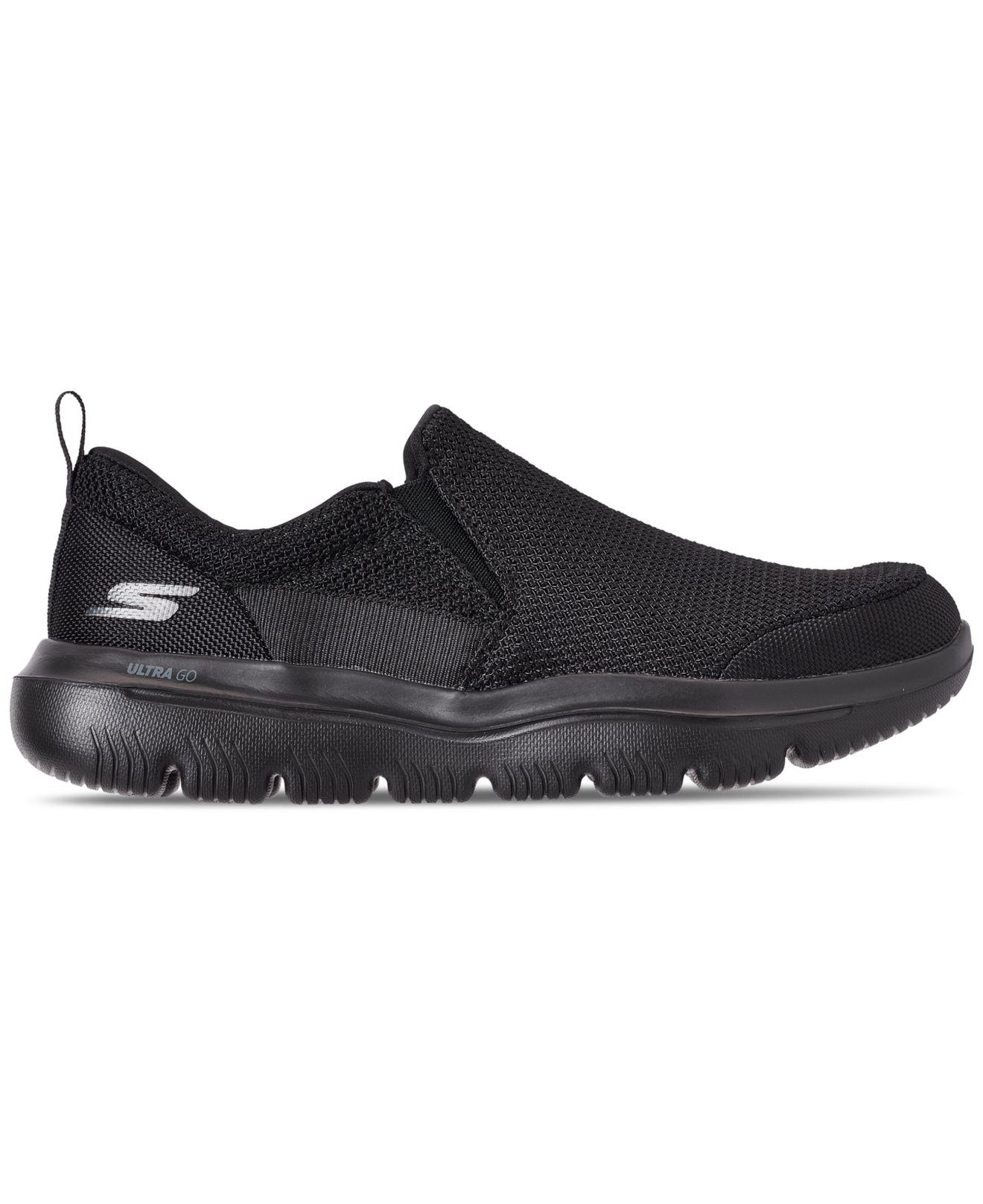 df3821d44b3f Lyst - Skechers Gowalk Evolution Ultra - Impeccable Slip-on Walking  Sneakers From Finish Line in Black for Men - Save 17%