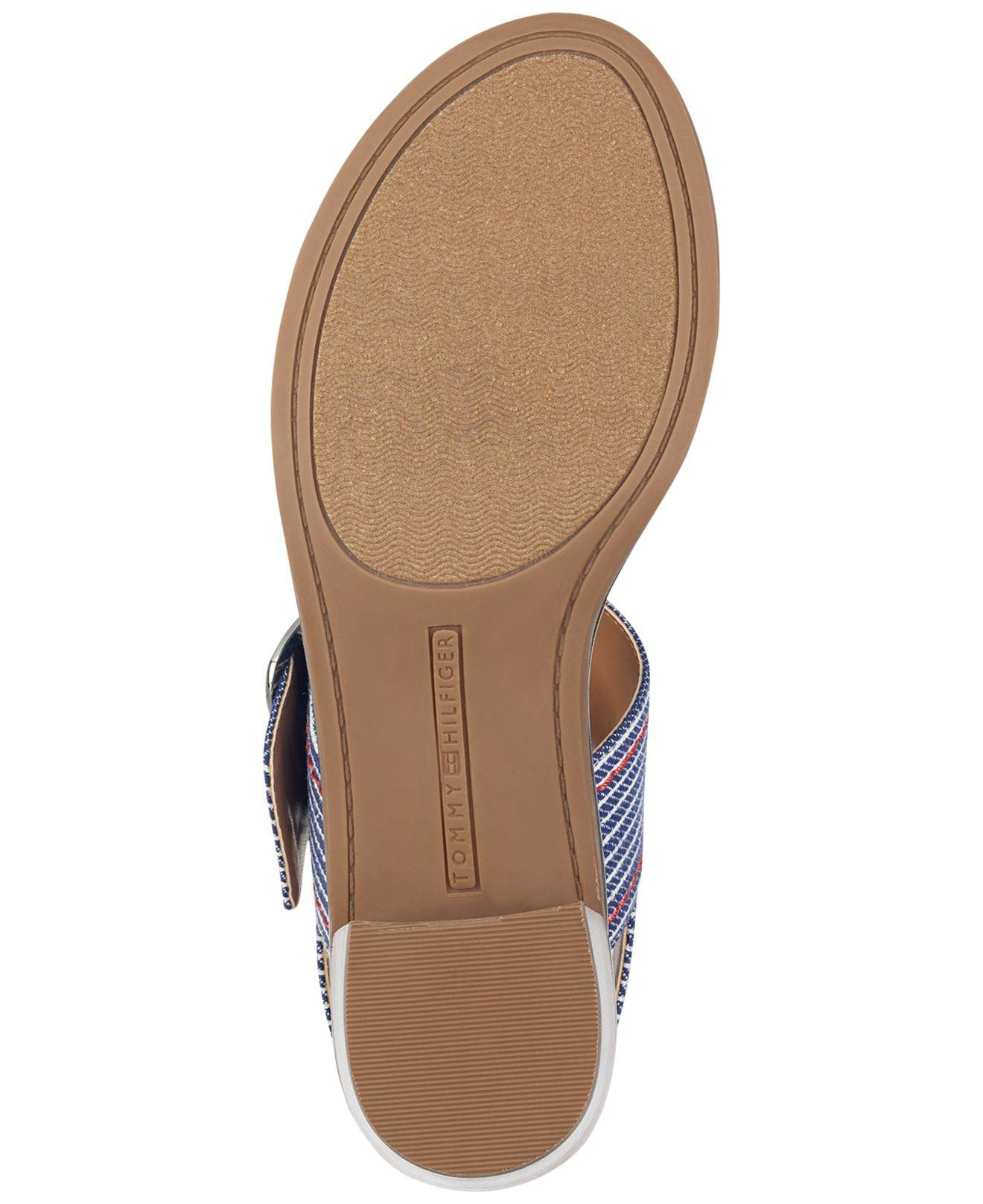 1f8b5f2ffac Lyst - Tommy Hilfiger Katz Heeled Sandal in Blue