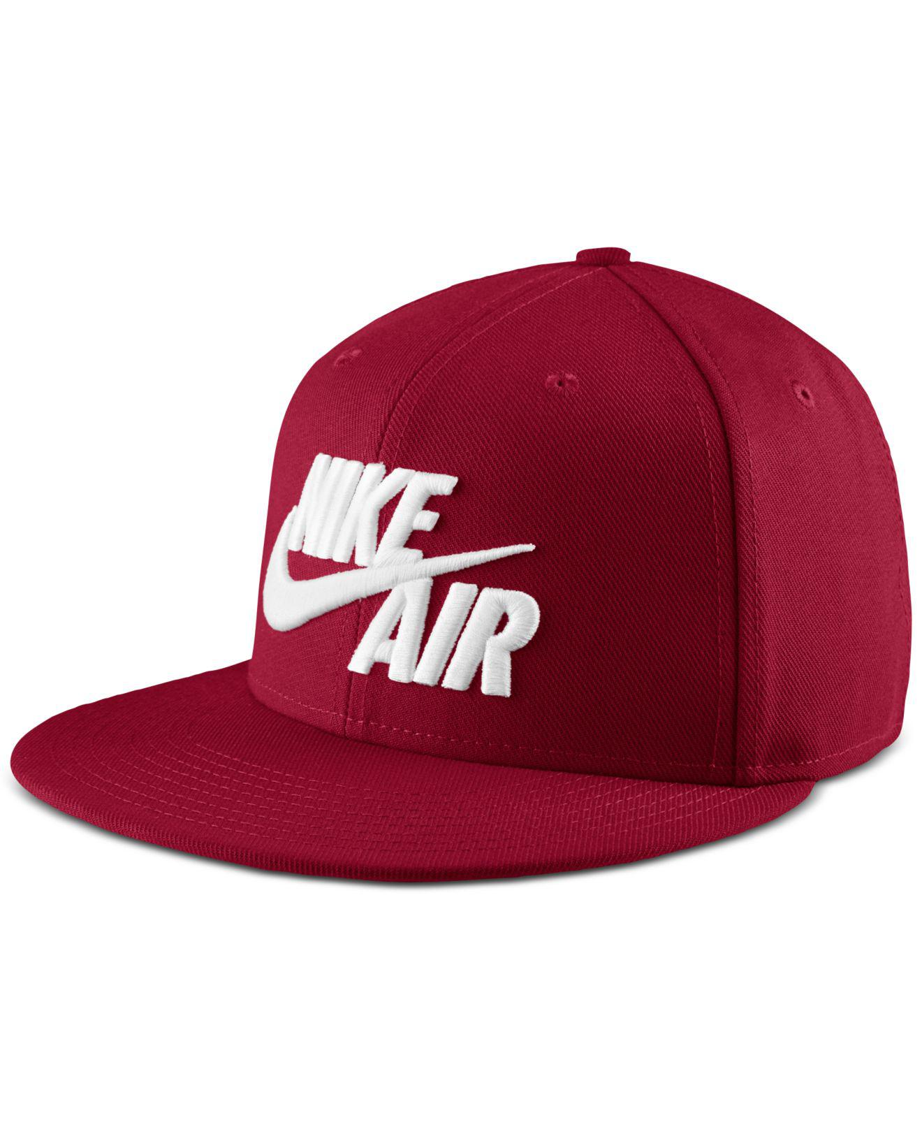 76f132397b6 Lyst - Nike Sportswear Air Dri-fit Hat in Red for Men