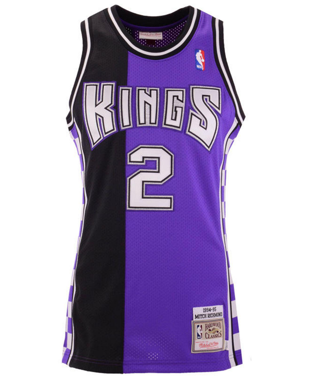 1fc3b420eba1 Mitchell   Ness Mitch Richmond Sacramento Kings Authentic Jersey in Purple  for Men - Lyst