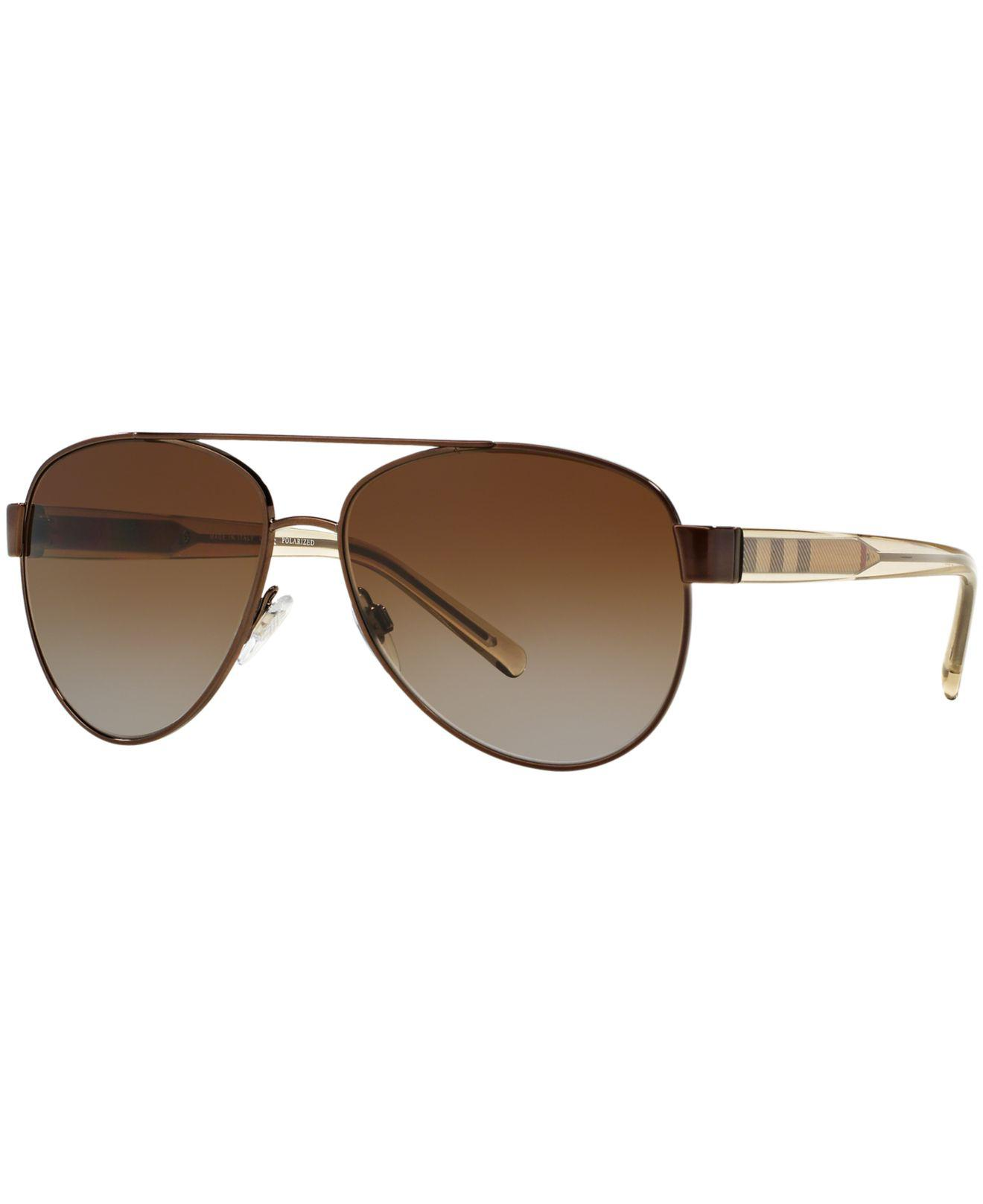 80bed5372c Burberry. Women s Brown Sunglasses ...