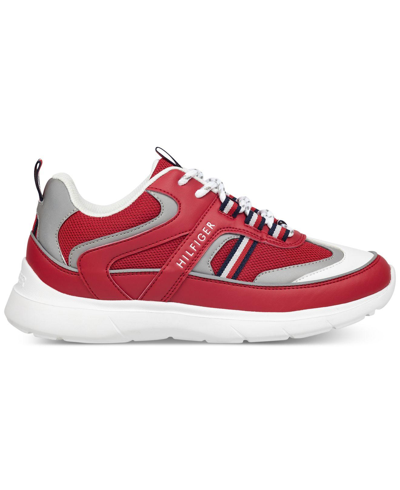 6bcb7e11cb59 Lyst - Tommy Hilfiger Cedro Sneakers in Red