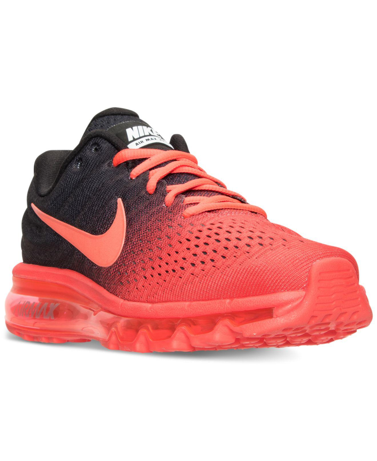 brand new b5680 4d6cc Lyst - Nike Air Max 2017 Running Sneakers From Finish Line ...
