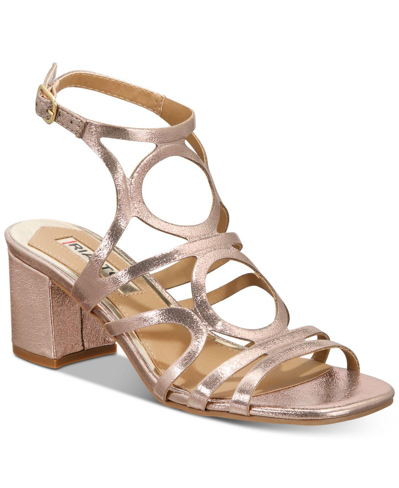 0330f150249 Lyst - Rialto Stanly Sandals