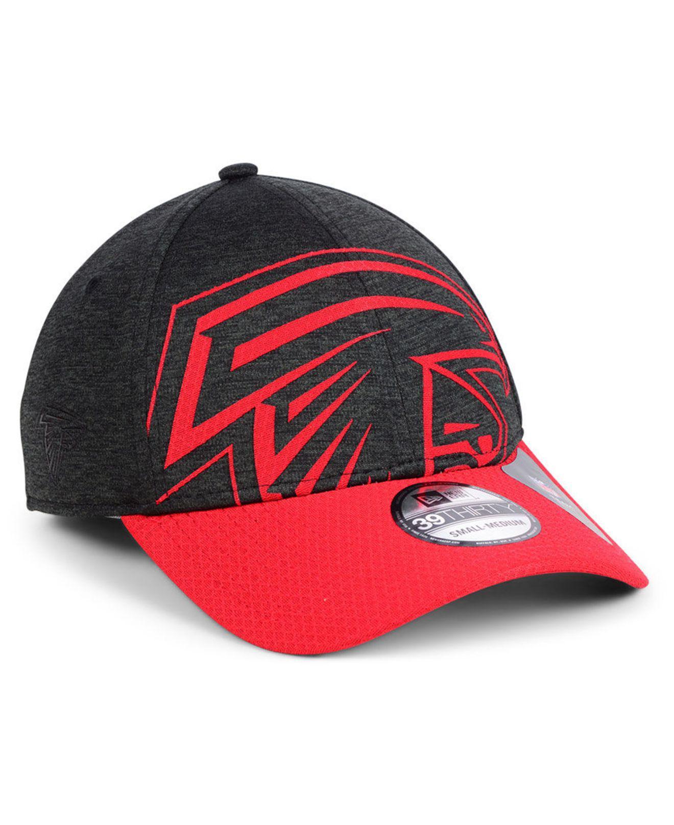 c5456d2b2e7 Lyst - KTZ Atlanta Falcons Oversized Laser Cut Logo 39thirty Cap in ...