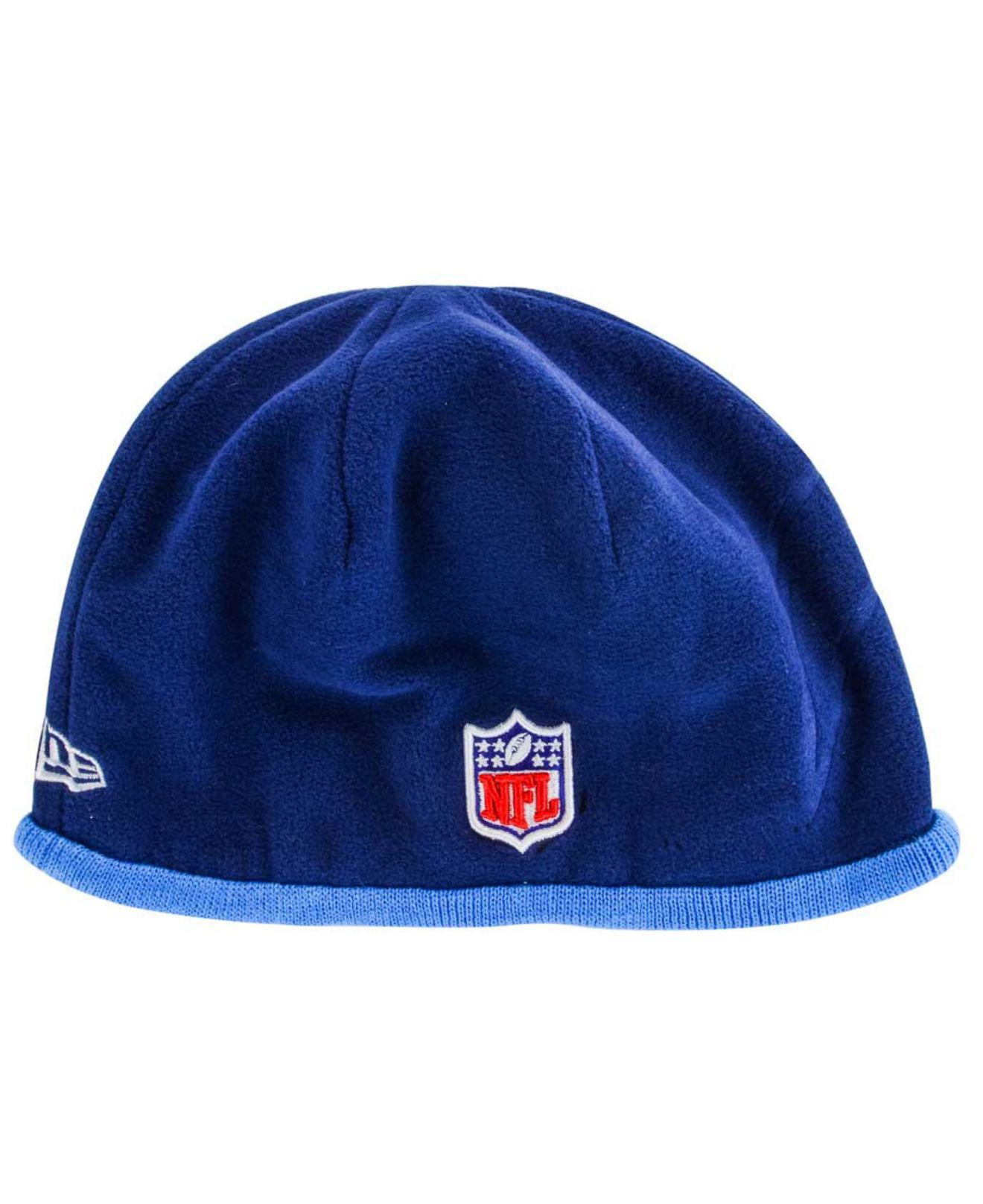 Lyst - Ktz San Diego Chargers Tech Knit Hat in Blue for Men e547d50a160f