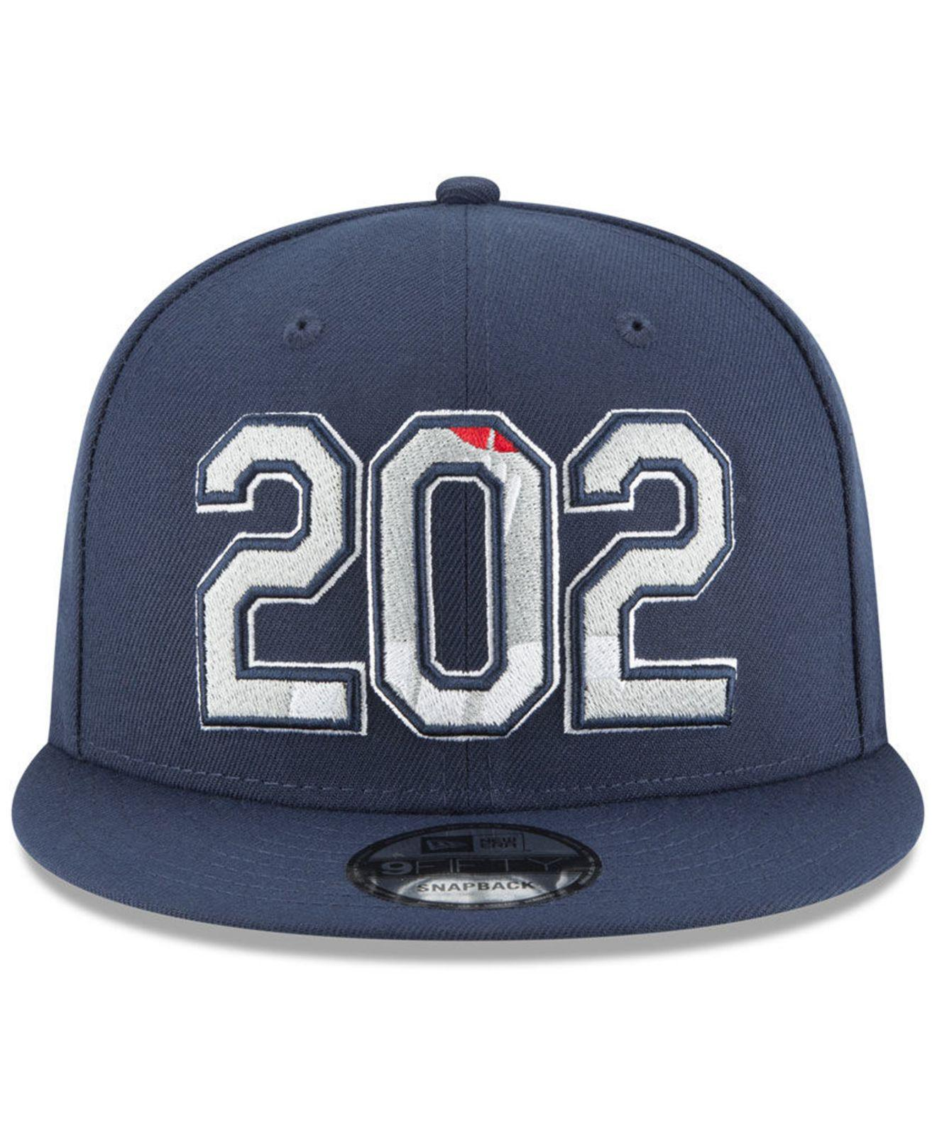d6d4c61e7f5f0 Lyst - KTZ Washington Wizards Area Code 9fifty Snapback Cap in Blue for Men