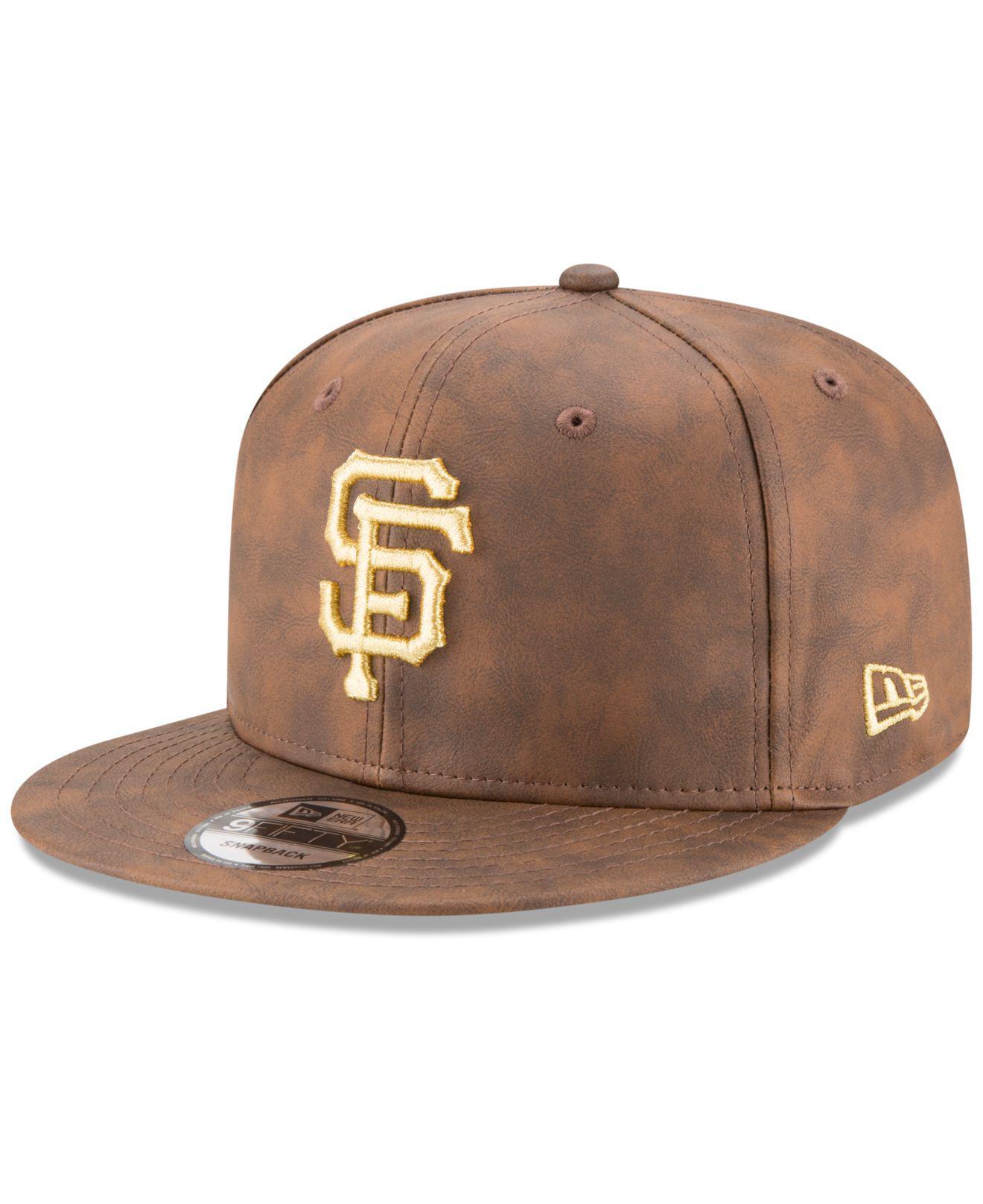 wholesale dealer 44d05 af20c Lyst - KTZ San Francisco Giants Butter So Soft Faux-leather 9fifty ...