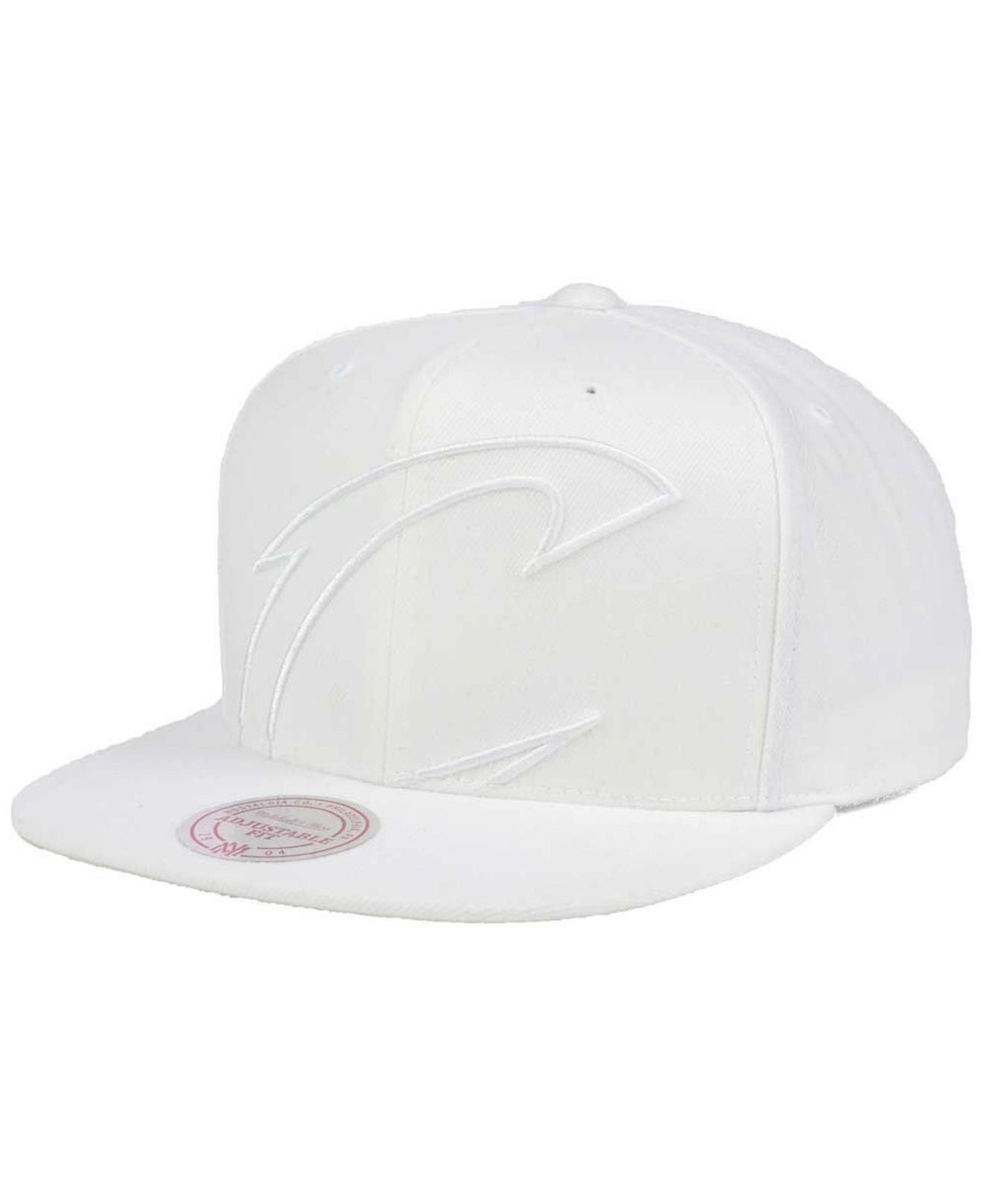 online store 5bacc b93d1 new arrivals mitchell ness. mens white cleveland cavaliers cropped xl logo snapback  cap 926ba b918d