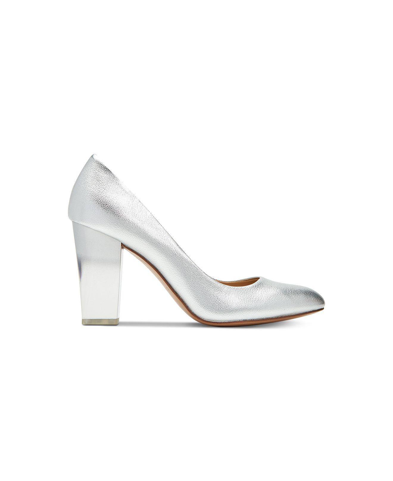 aeedcfe87af Lyst - Katy Perry The A.w. Ombré-lucite Pumps in Metallic