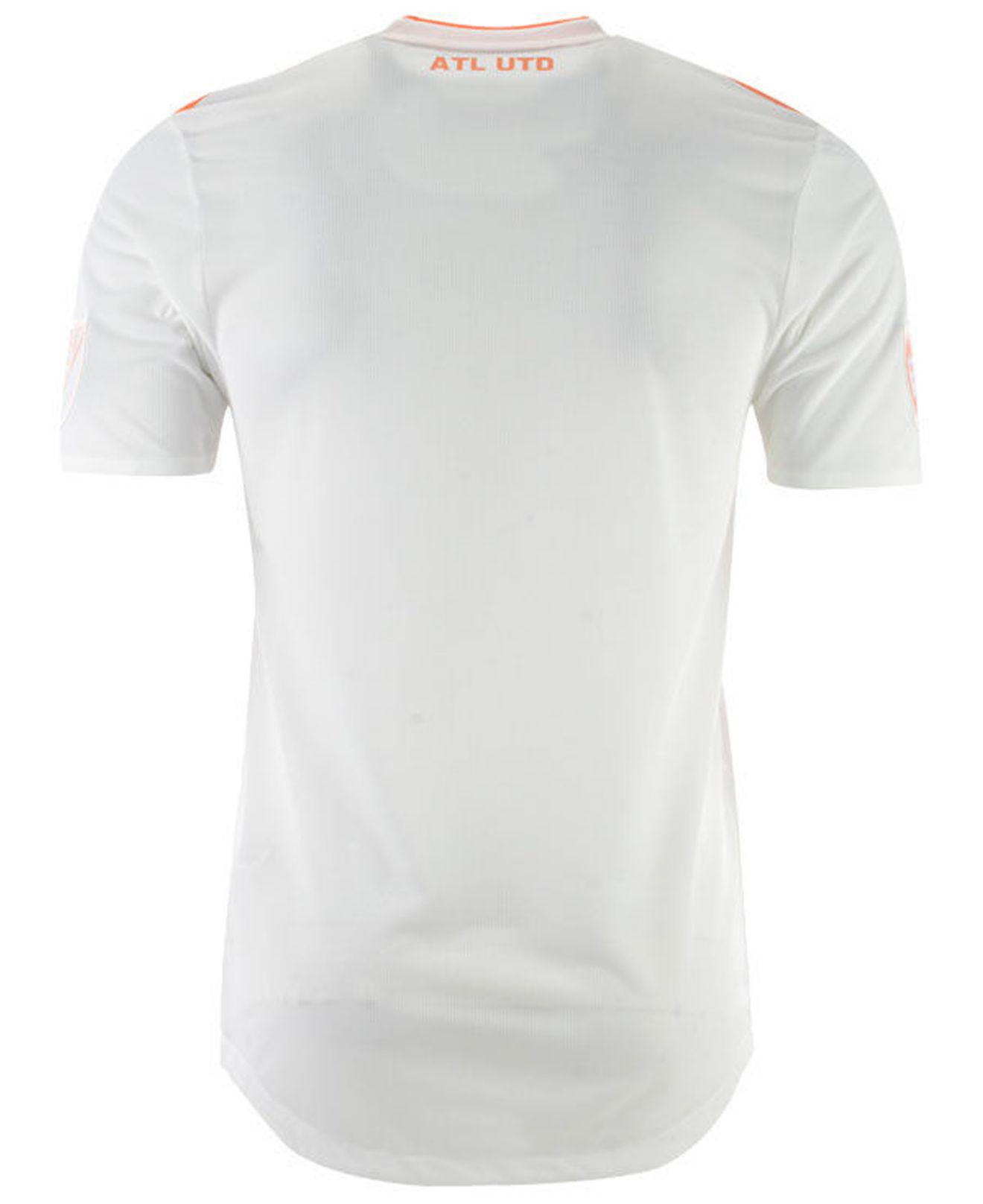 abd405ef662 adidas Atlanta United Fc Secondary Authentic Jersey in White for Men - Lyst