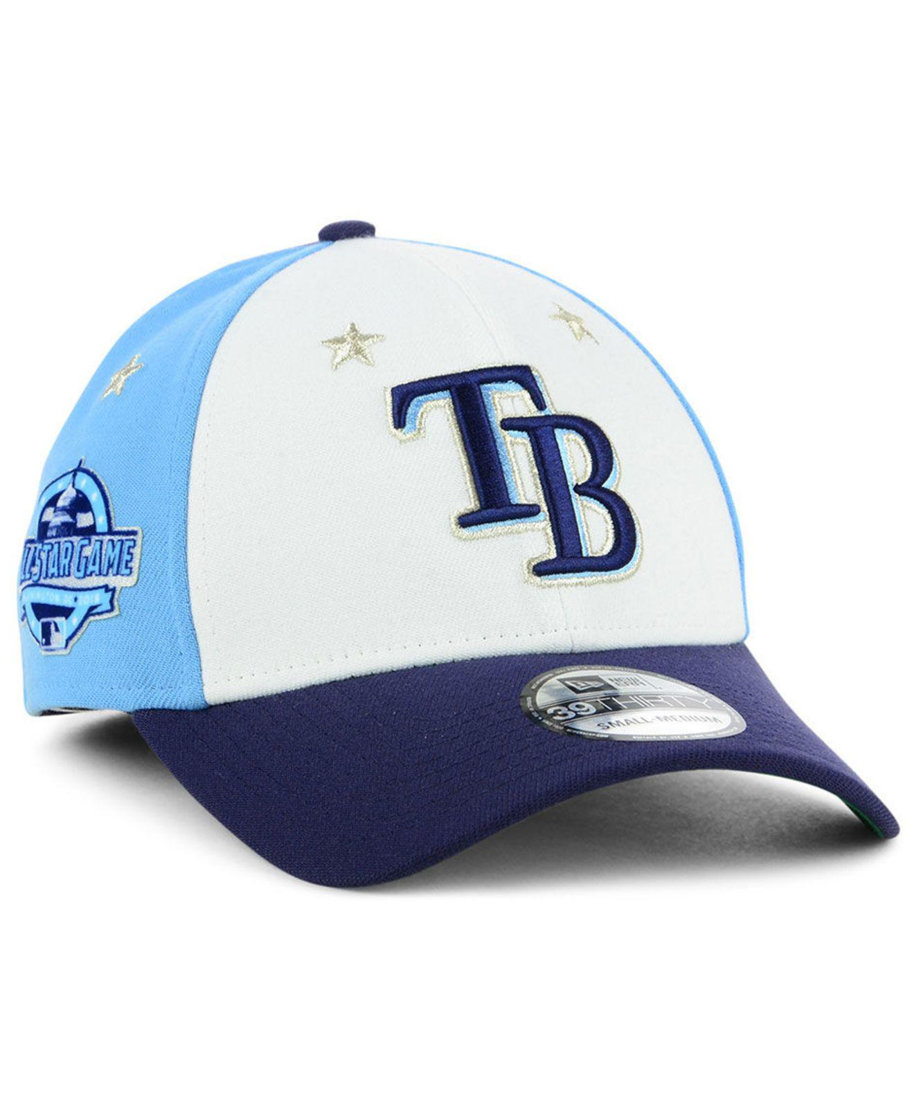 on sale 8bbf7 bd370 ... cheapest ktz. mens blue tampa bay rays all star game 39thirty stretch  fitted cap 2018